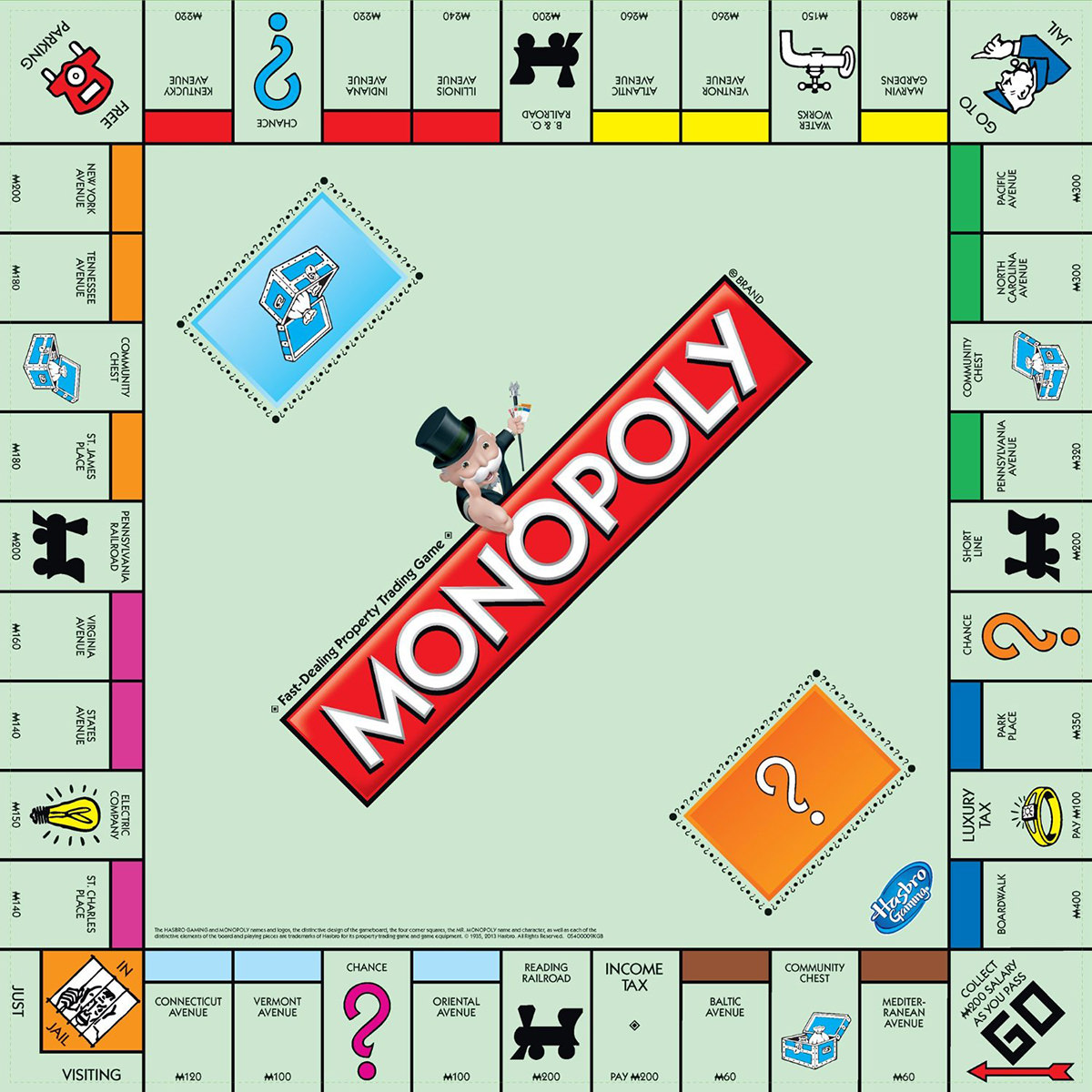 Image result for monopoly board