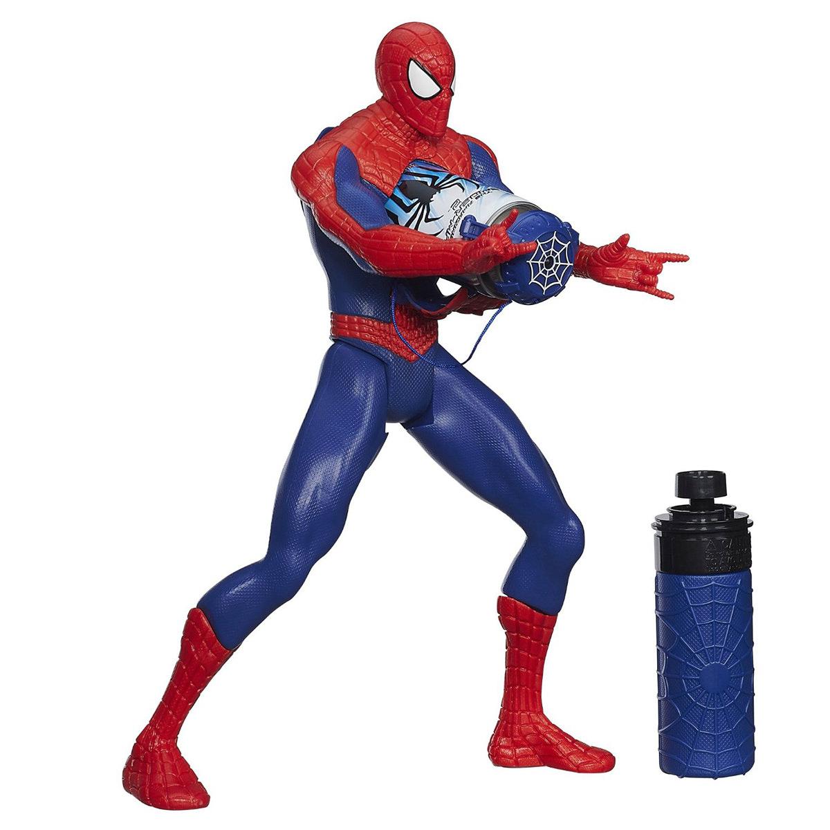Hasbro A6997 Marvel Web Slinging Spiderman Figure At Hobby