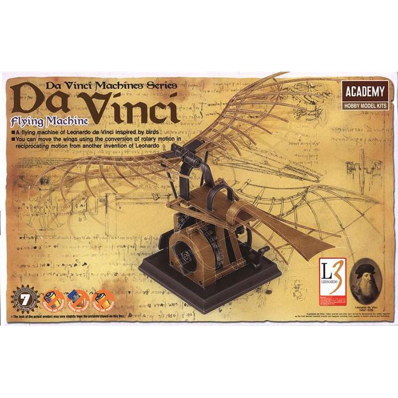 da vinci flying machine model kit