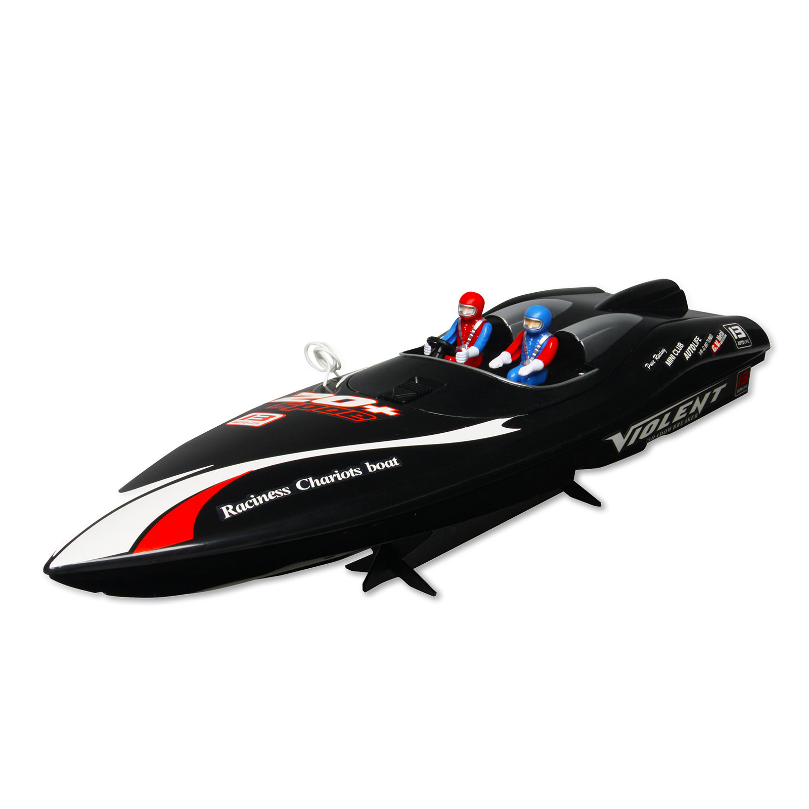 2011 9 Violent Shadow Breaker Black Rc Speed Boat At Hobby