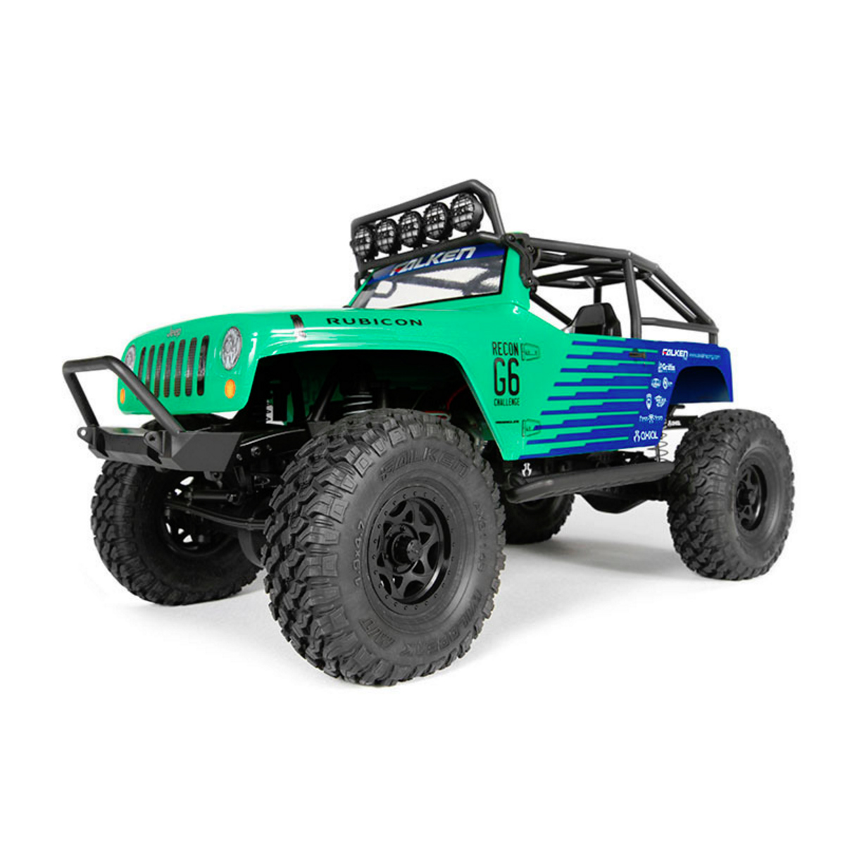 Axial R C : Axial jeep wrangler g falken edition rc truck at