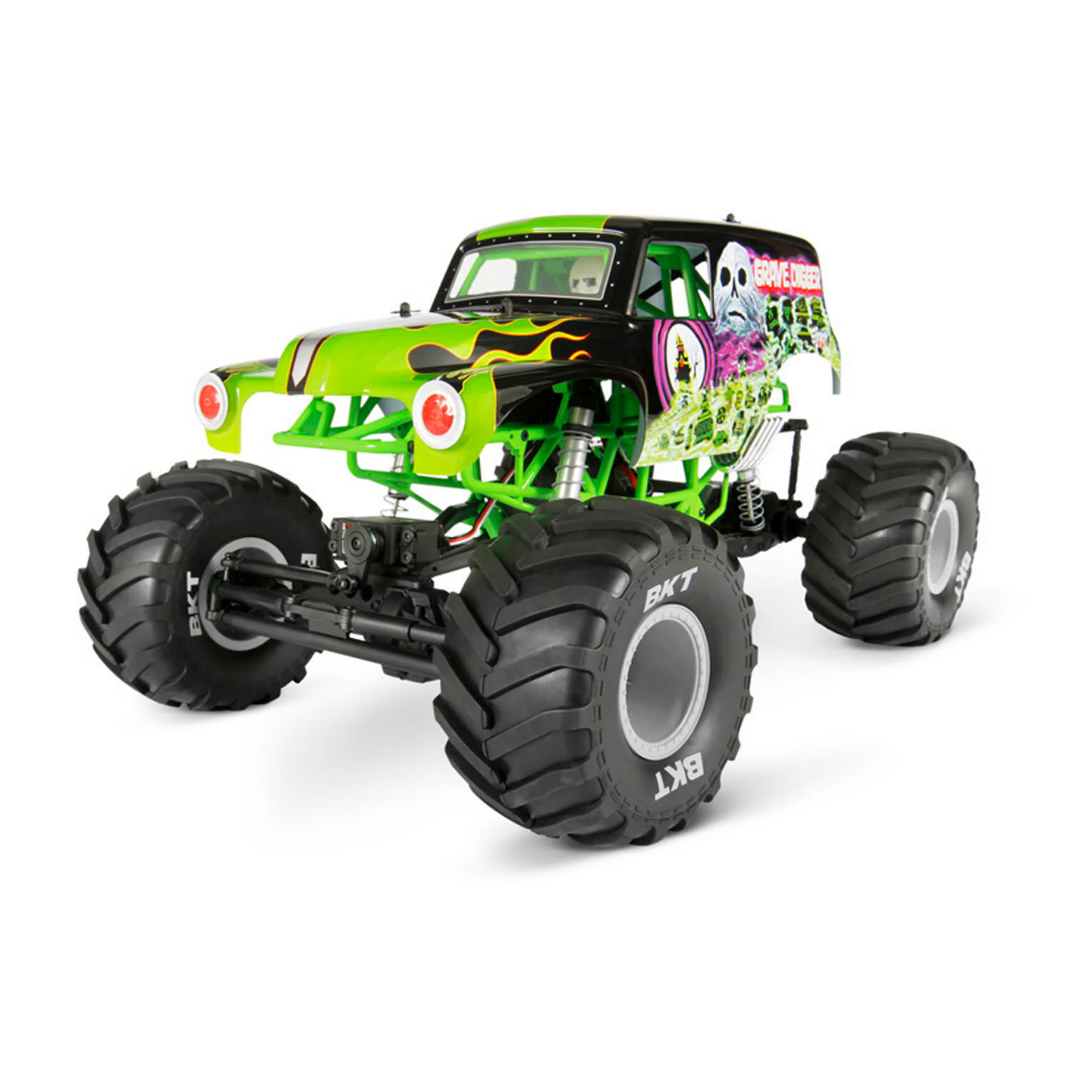 axial 90055 smt10 grave digger monster jam truck 1 10 scale electric 4wd at hobby warehouse. Black Bedroom Furniture Sets. Home Design Ideas
