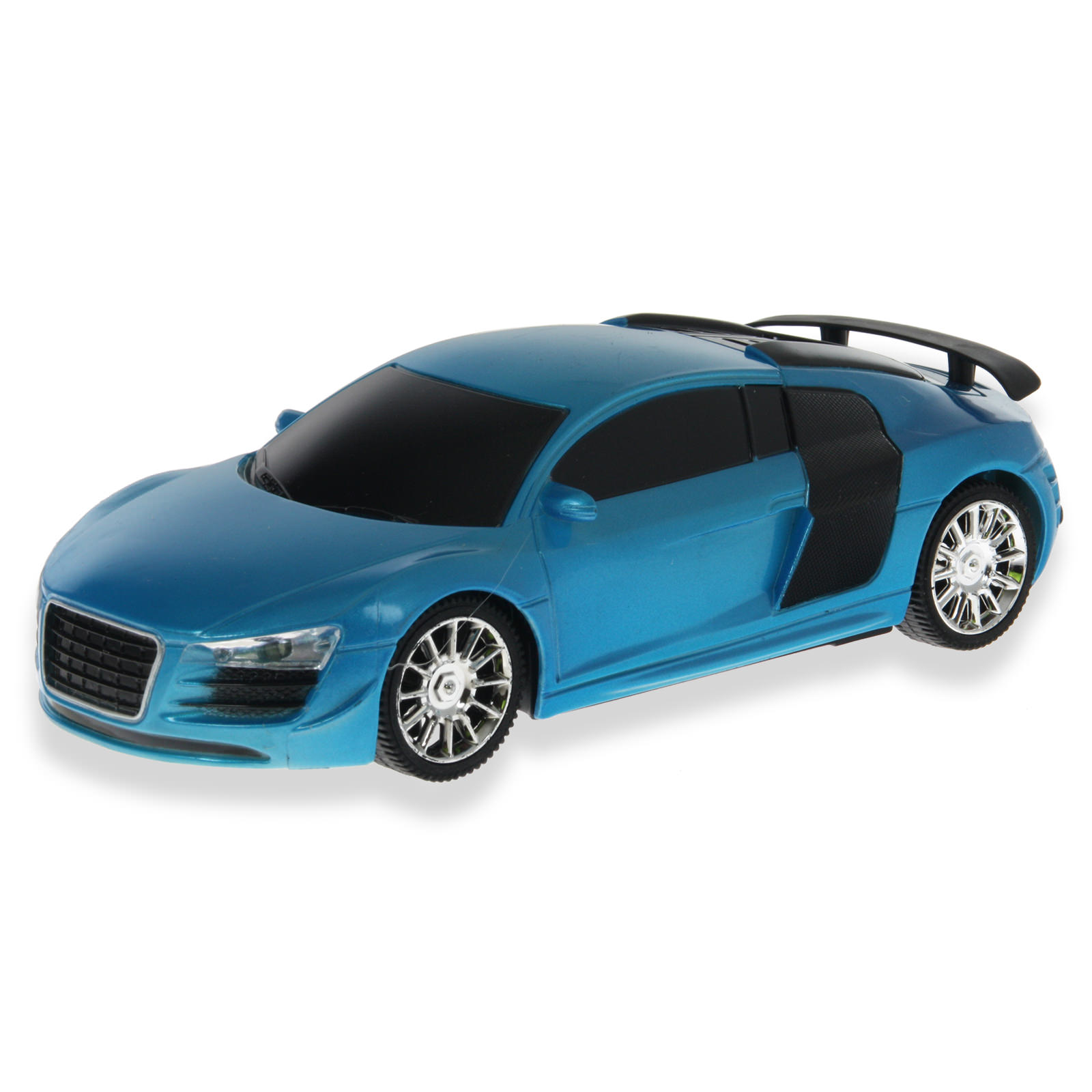 fast car lf10 blue audi r8 rc car at hobby warehouse. Black Bedroom Furniture Sets. Home Design Ideas