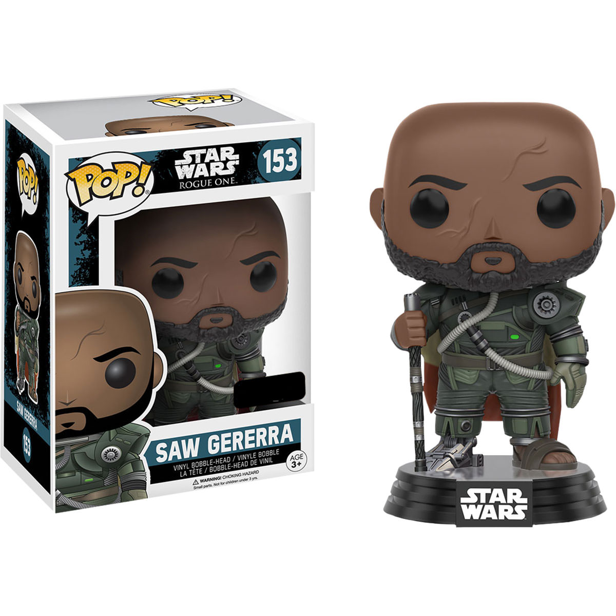 Funko Star Wars Rogue One Saw Gerrera Pop Vinyl Figure
