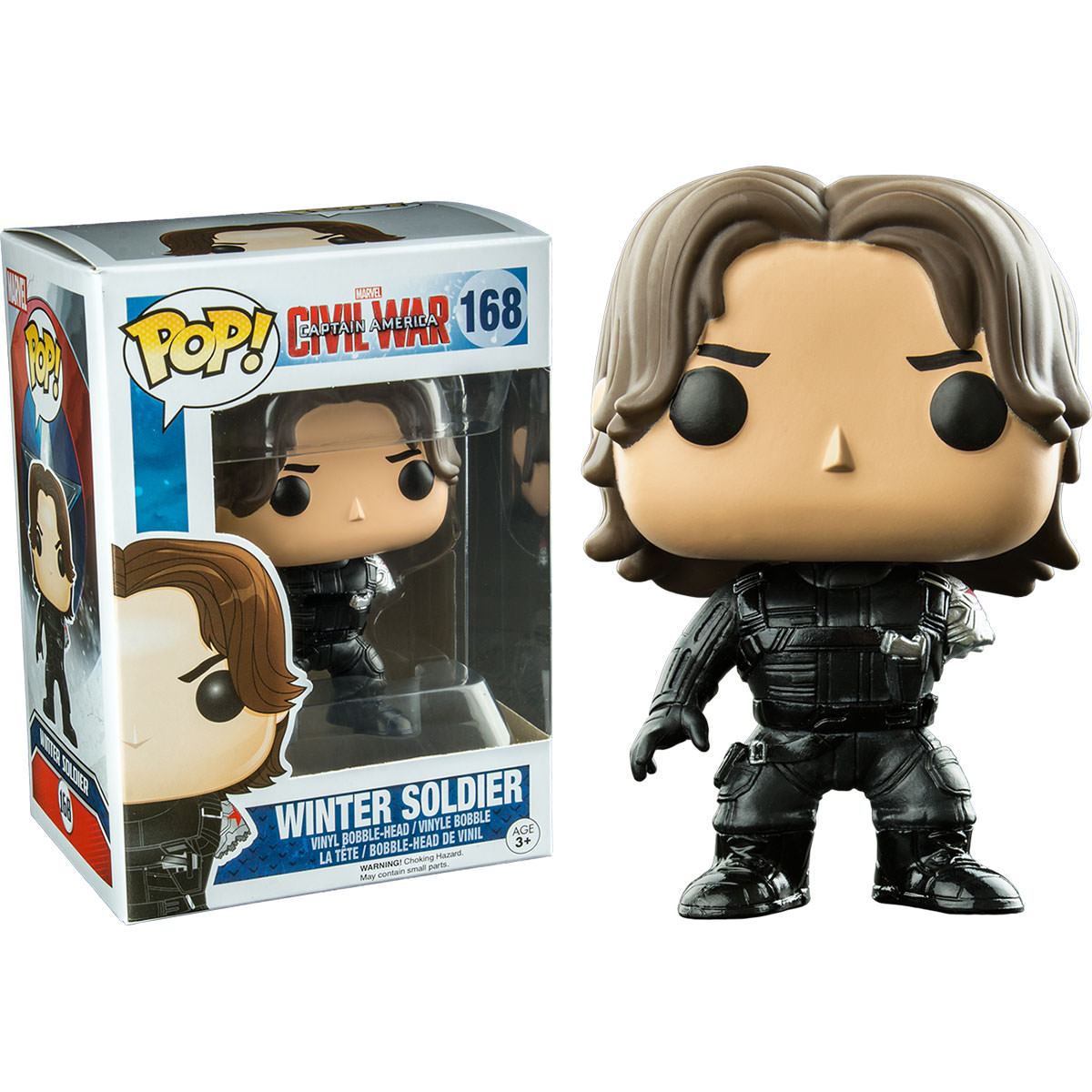 Funko Captain America 3 Winter Soldier With Arm Missing