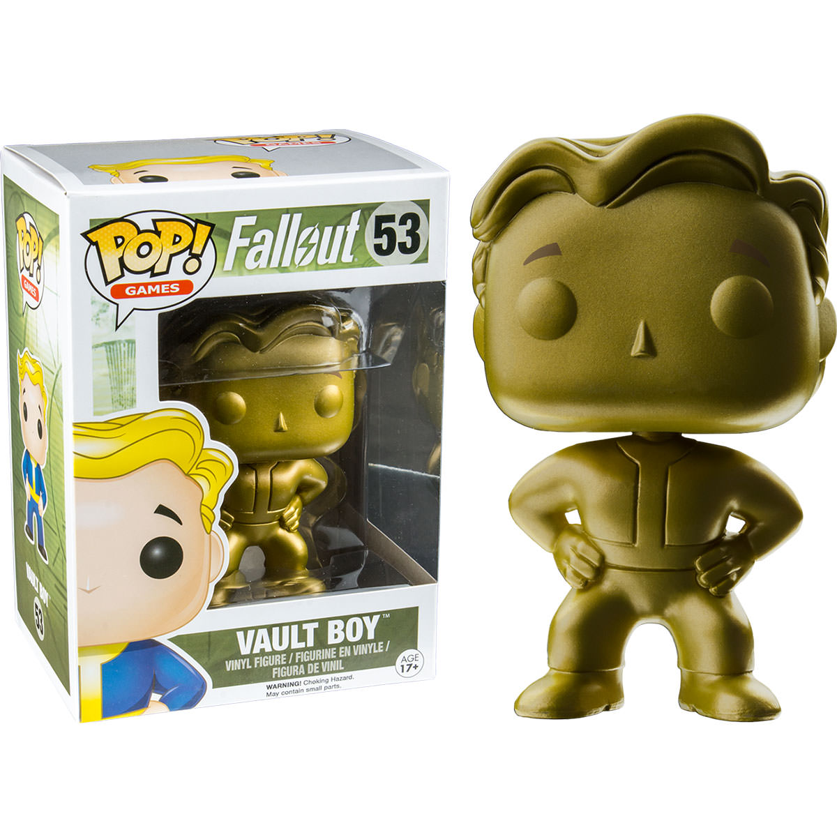 Funko Fallout Gold Vault Boy Pop Vinyl Figure At Hobby