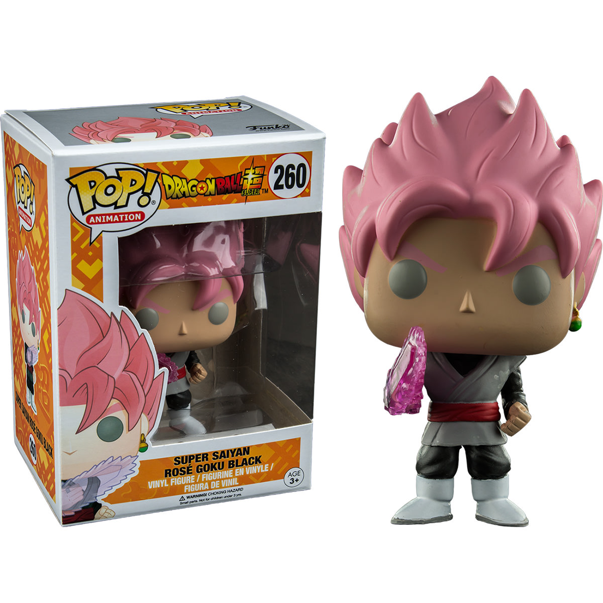 Funko Dragonball Z Super Saiyan Rose Goku Black Pop