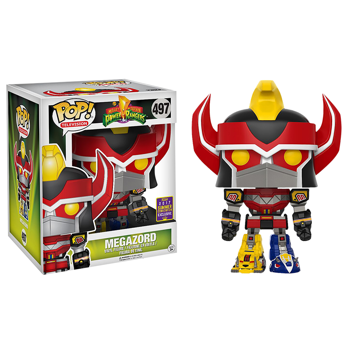 Funko Power Rangers 6 Quot Megazord Pop Vinyl Figure 2017