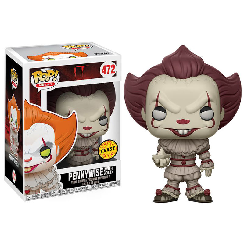 Funko It 2017 Pennywise With Boat Limited Edition