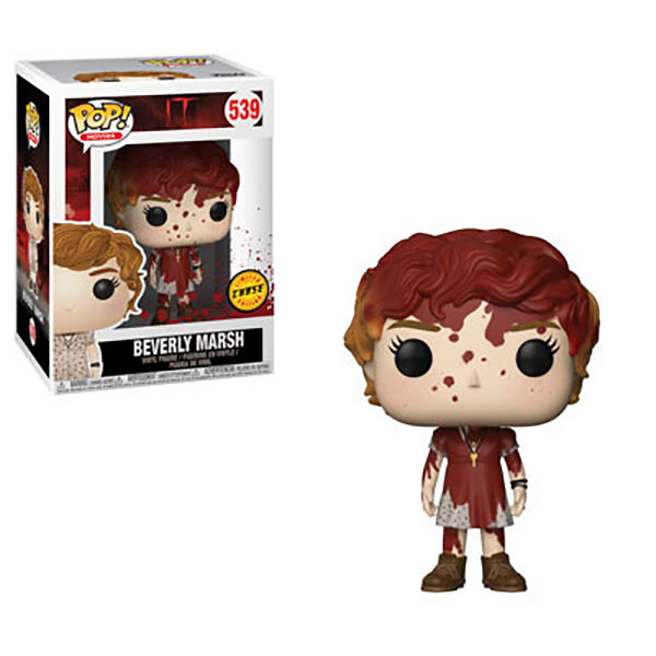 Funko it 2017 beverly marsh limited edition chase sticker pop vinyl figure