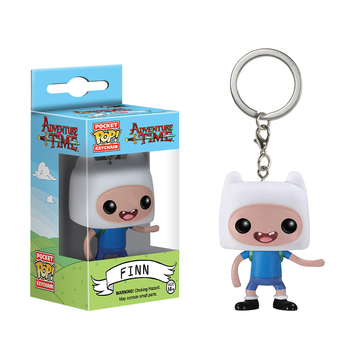 Funko Adventure Time Finn Pop Keychain At Hobby Warehouse