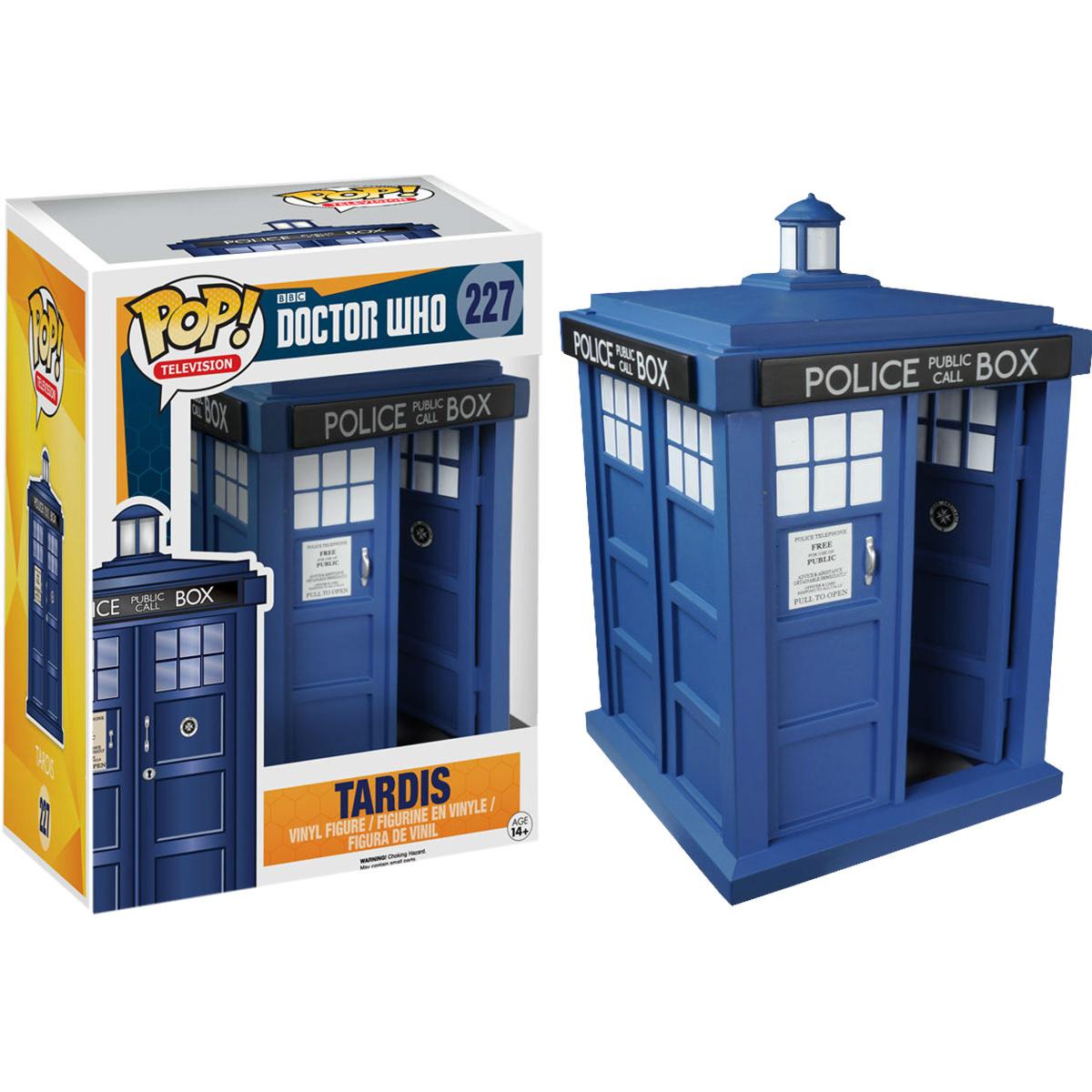 Funko Doctor Who Tardis Pop Vinyl Figure At Hobby Warehouse