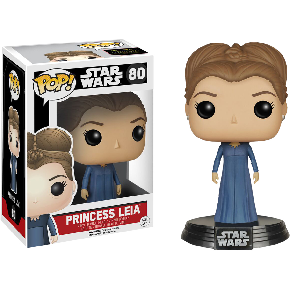 funko star wars ep7 princess leia pop vinyl figure at hobby warehouse. Black Bedroom Furniture Sets. Home Design Ideas