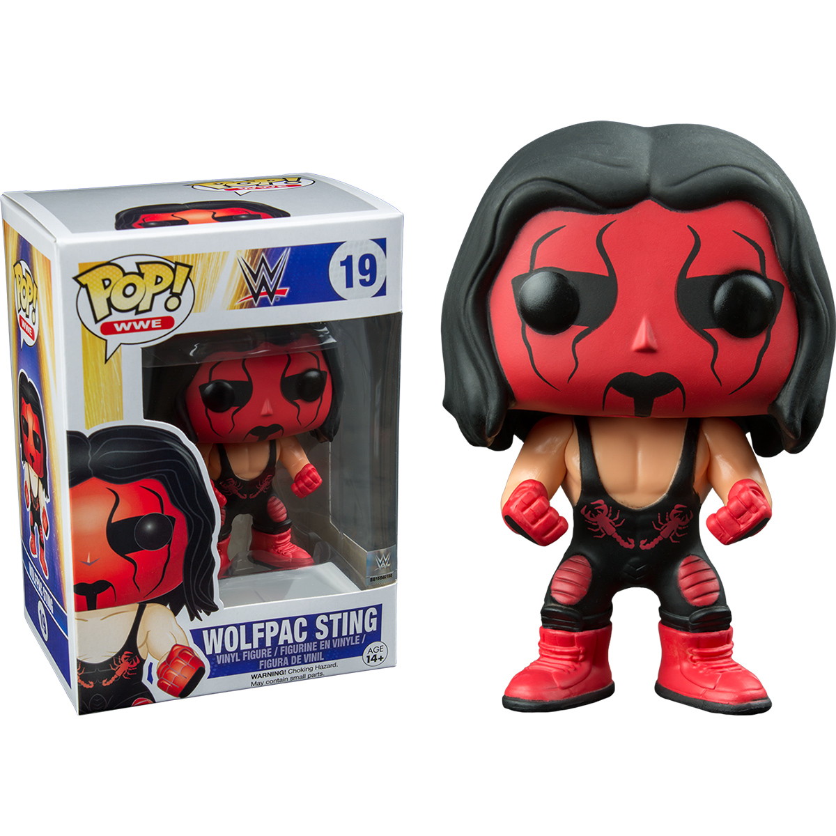 Funko Wwe Wolfpac Sting Pop Vinyl Figure At Hobby Warehouse