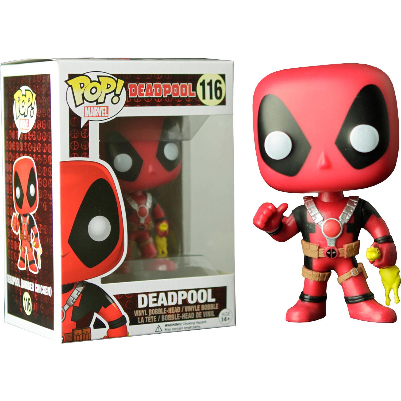 Funko Deadpool Deadpool With Rubber Chicken Pop Vinyl