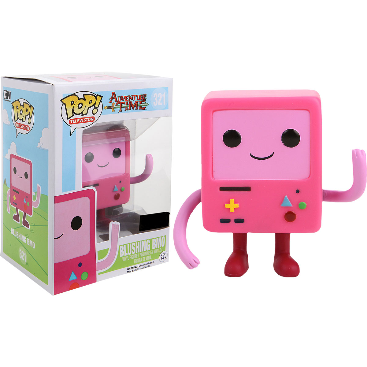 Funko Adventure Time Blushing Bmo Pop Vinyl Figure At