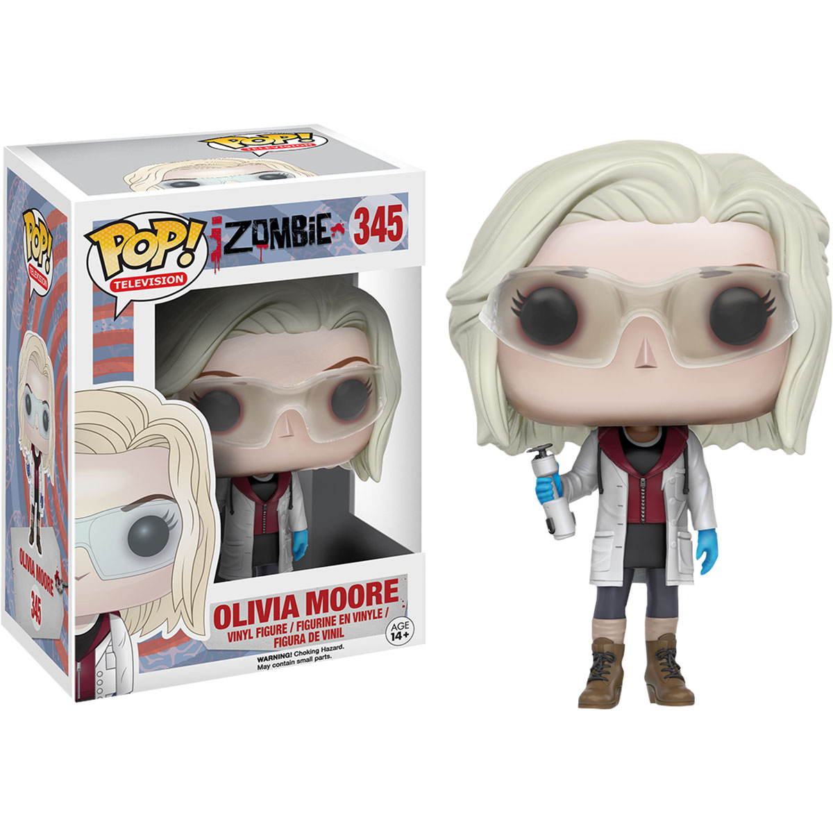 Funko Izombie Olivia Moore With Glasses Pop Vinyl