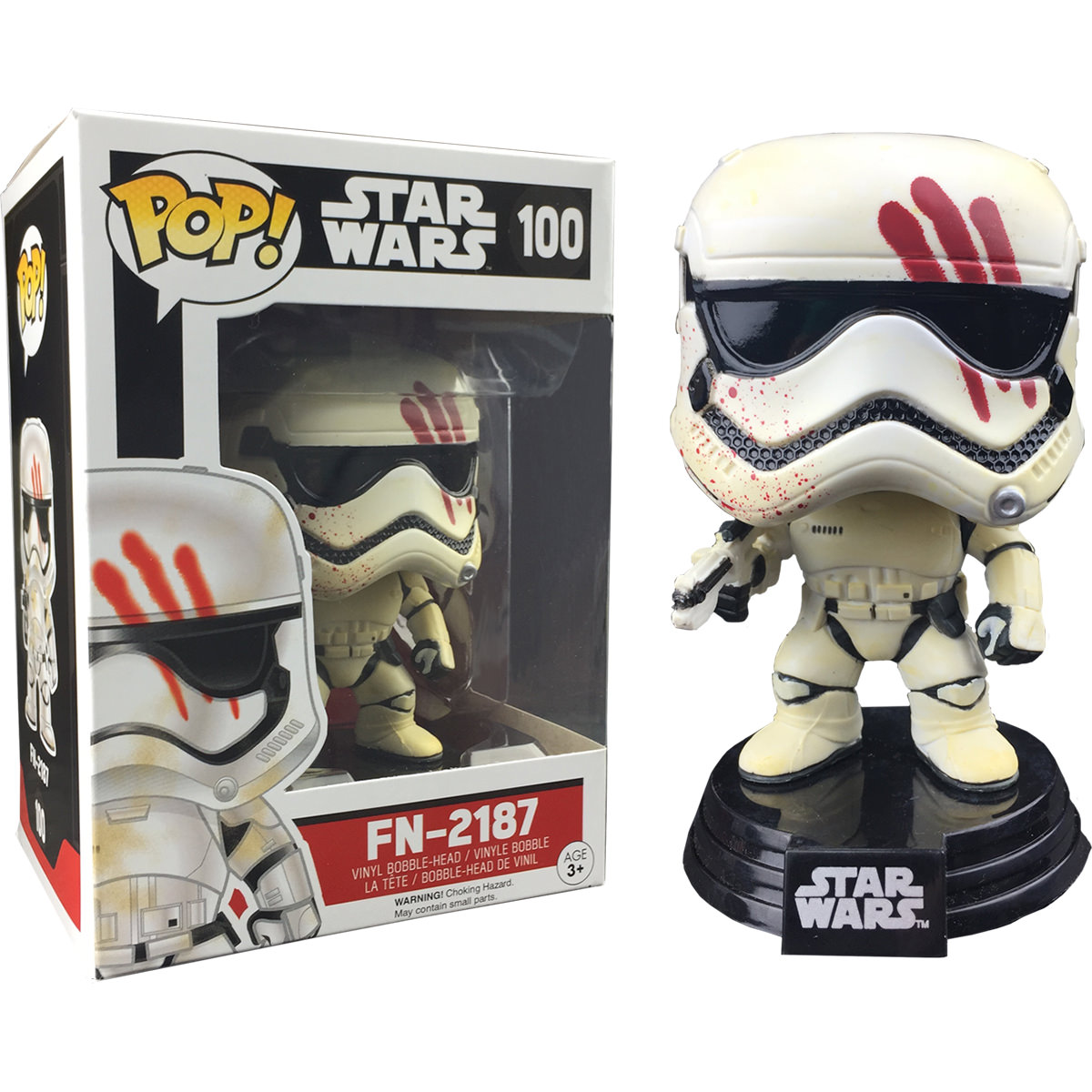 Funko Star Wars Fn 2187 Stormtrooper With Blood Ep 7 Pop