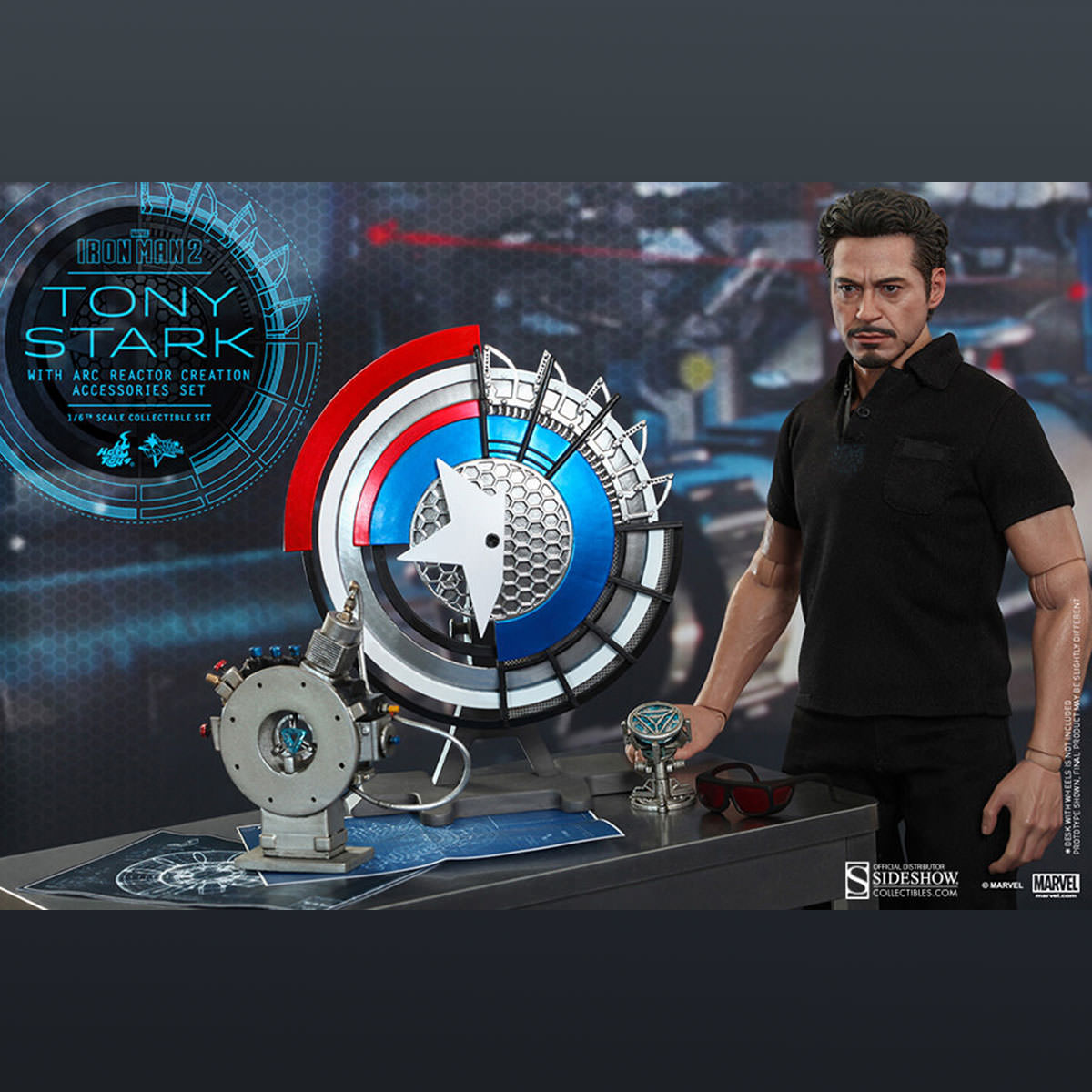 Hot Toys Iron Man 2 Tony Stark 1/6th Scale Collectible ...
