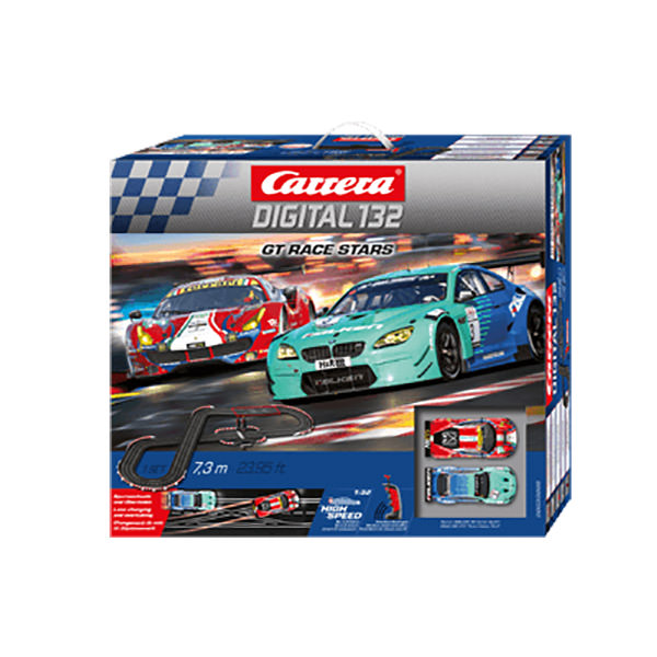 carrera digital 132 gt race stars slot racing set at hobby. Black Bedroom Furniture Sets. Home Design Ideas