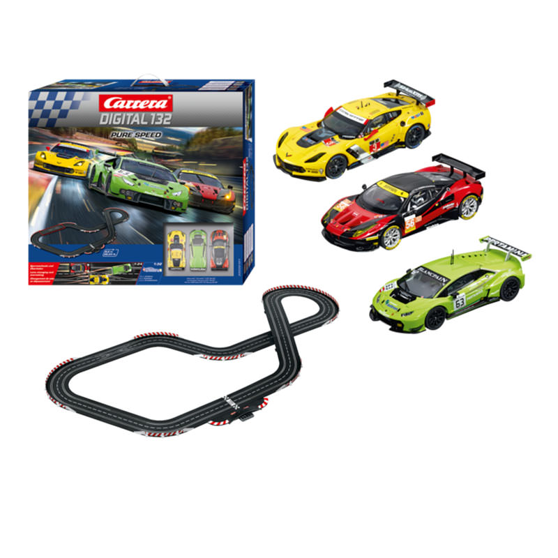 carrera digital 132 pure speed slot racing set at hobby. Black Bedroom Furniture Sets. Home Design Ideas