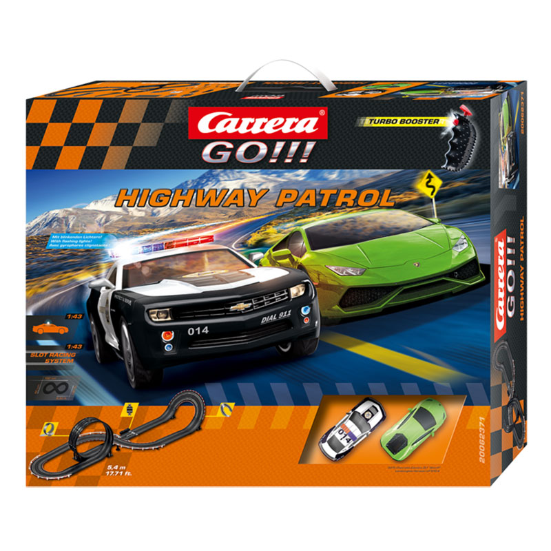Amazon.com: Carrera GO!!! Highway Patrol 1:43 Scale ...