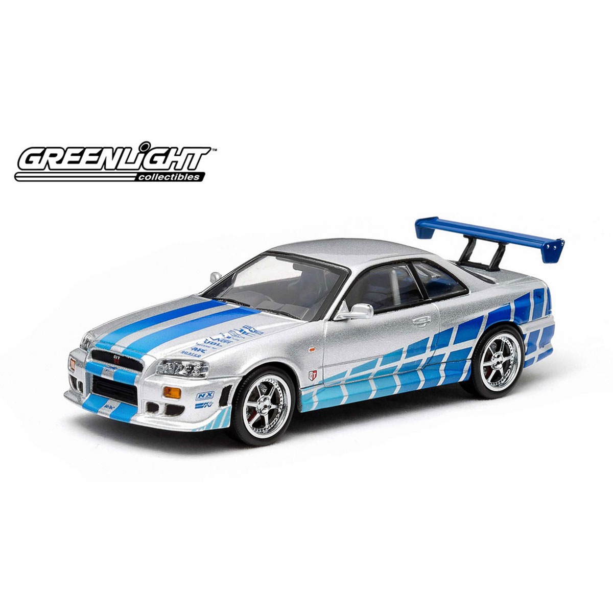 Greenlight Fast And Furious 1:43 Brian's 1999 Nissan