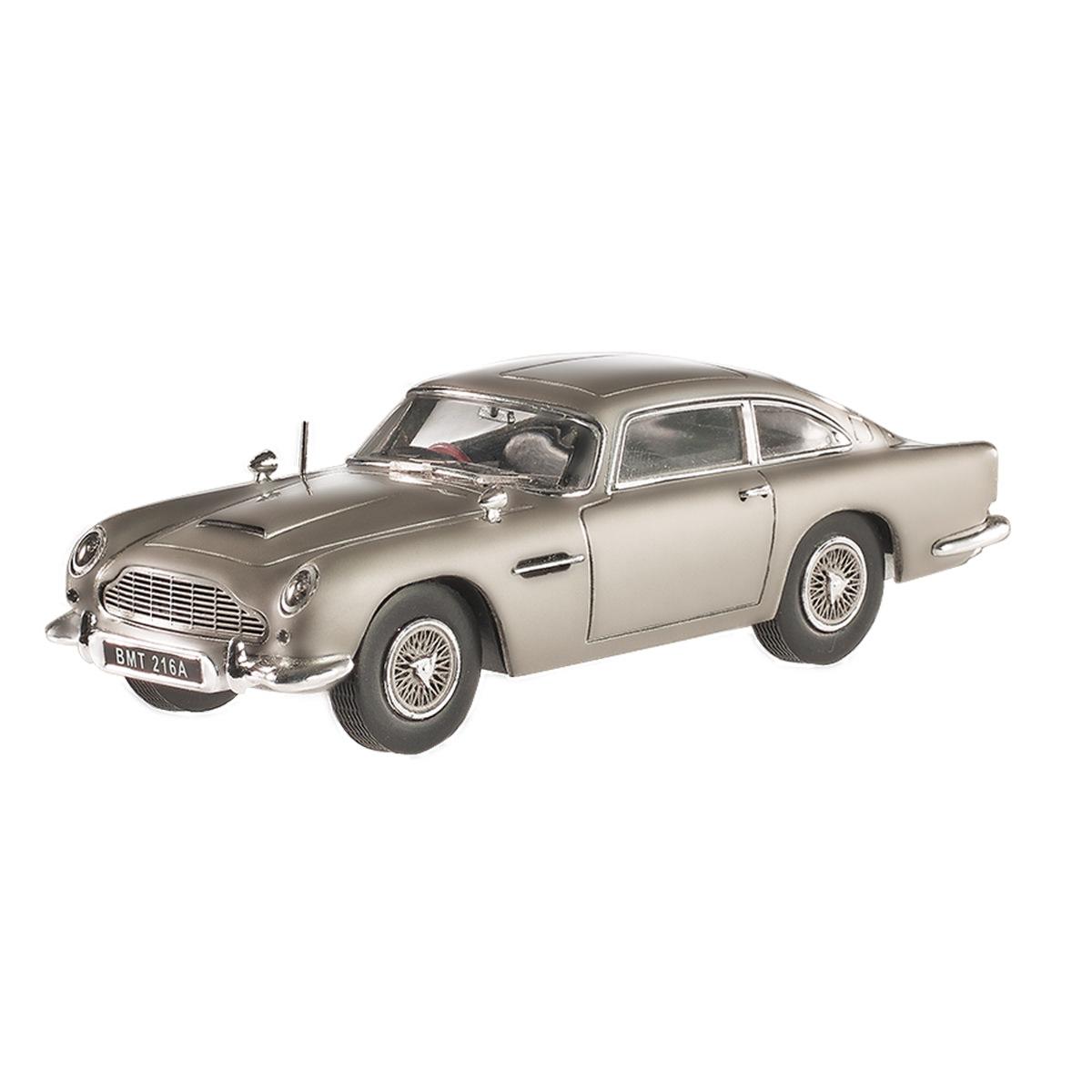 Aston Martin Db5: Hot Wheels Elite 1:43 Scale James Bond Goldfinger Aston