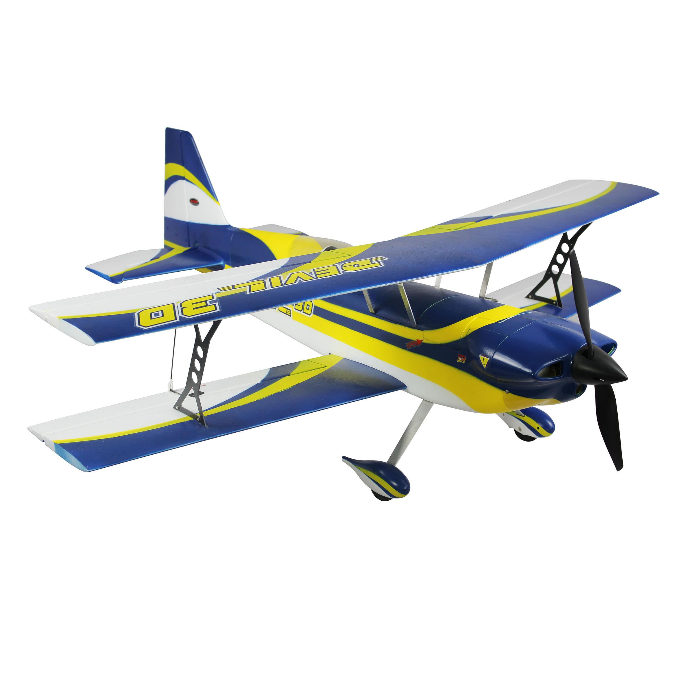 Dynam 8954 Devil 3d Rc Biplane At Hobby Warehouse
