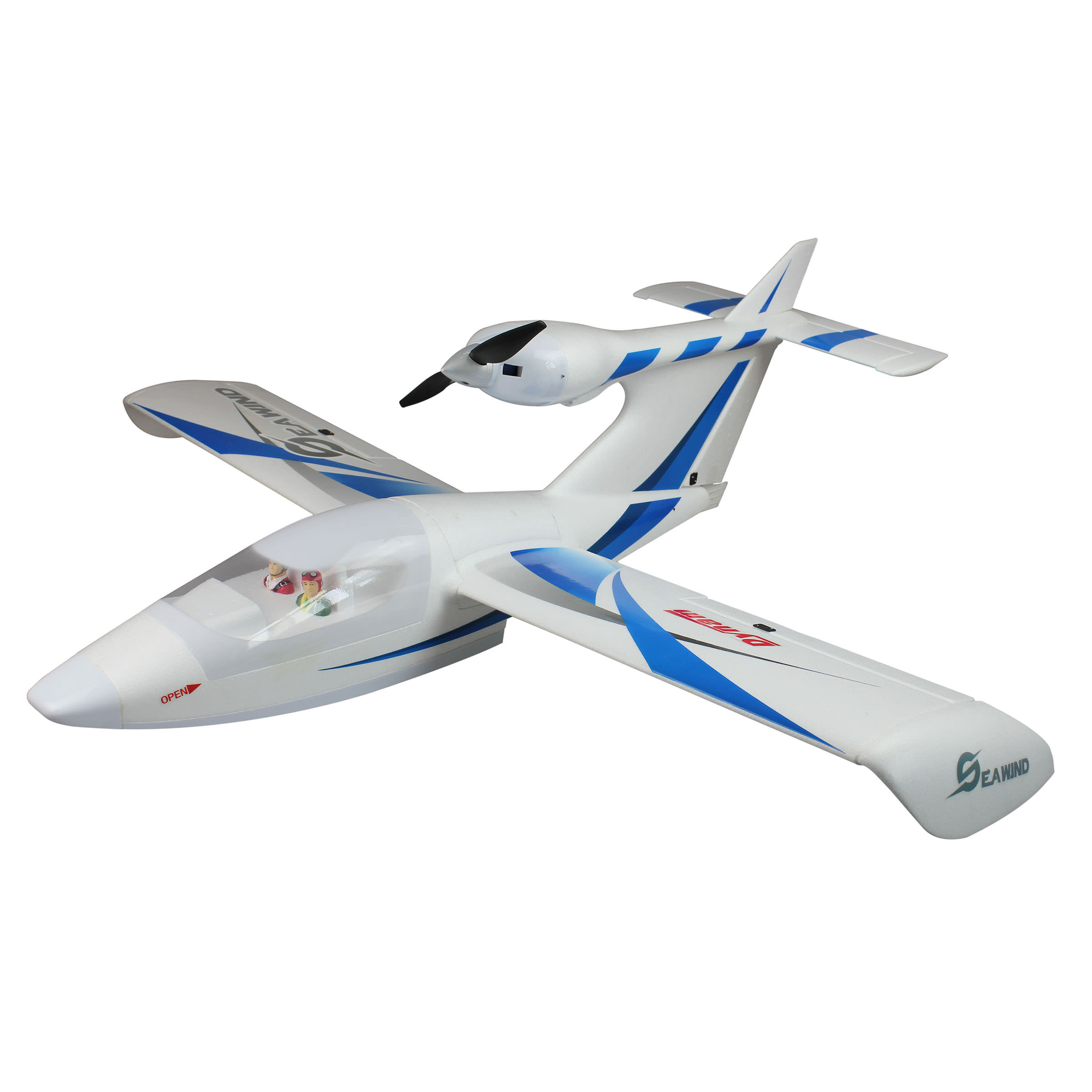 Dynam 8968 Seawind Blue Rc Plane At Hobby Warehouse