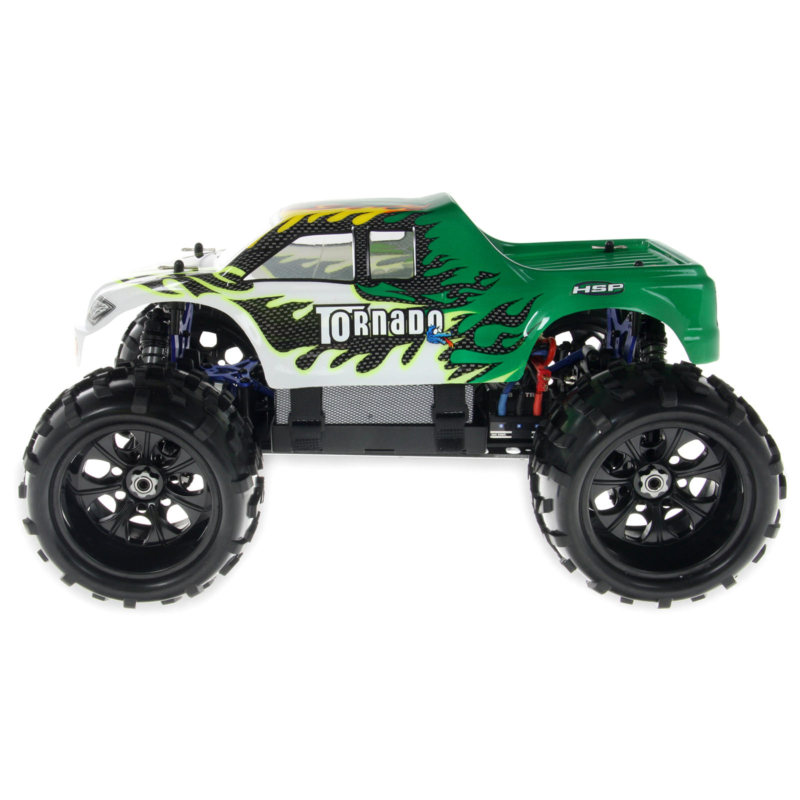 Rc Trucks Green : Hsp e top green ghz electric wd off road