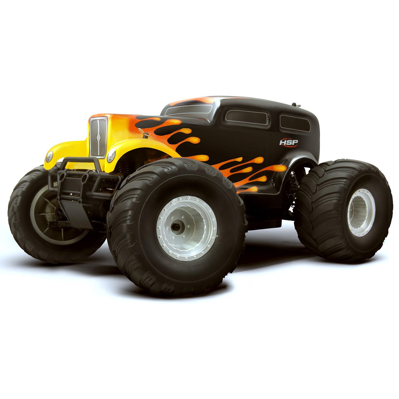 hsp hot rod monster truck 94111 2 4ghz electric 4wd off. Black Bedroom Furniture Sets. Home Design Ideas