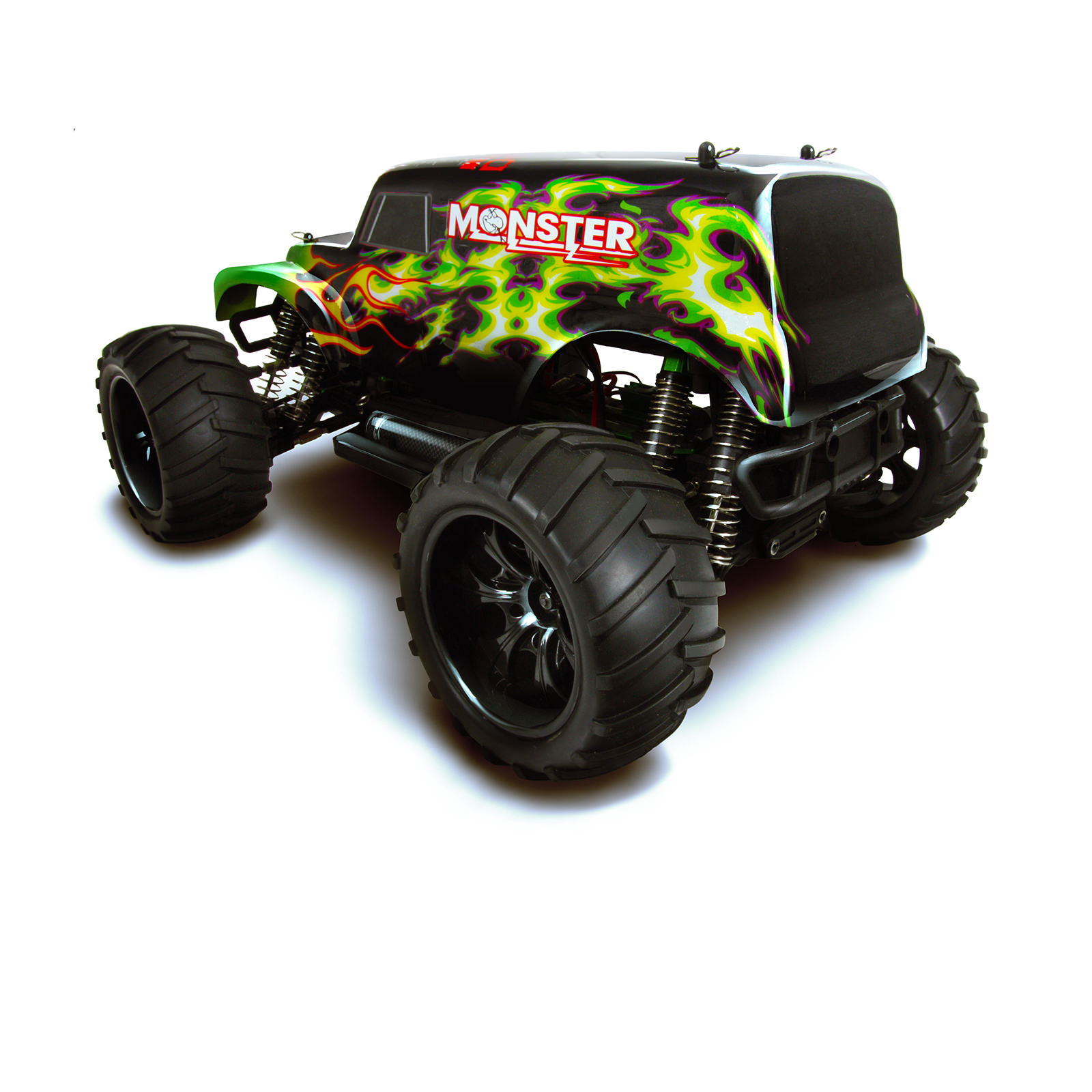 Rc Trucks Green : Hsp monster truck special edition green rc at hobby