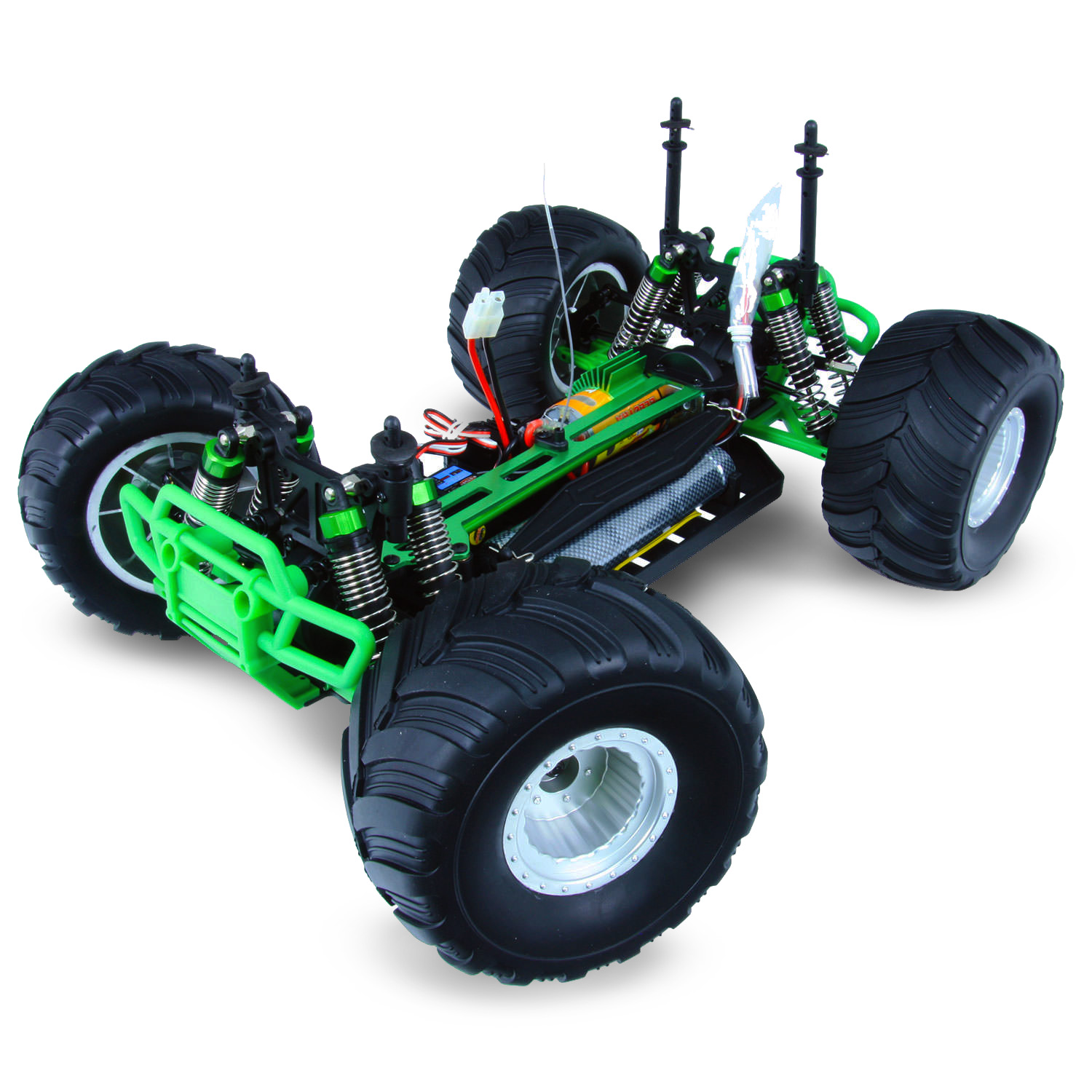 Hsp Monster Truck Special Edition Green Rc Truck At Hobby