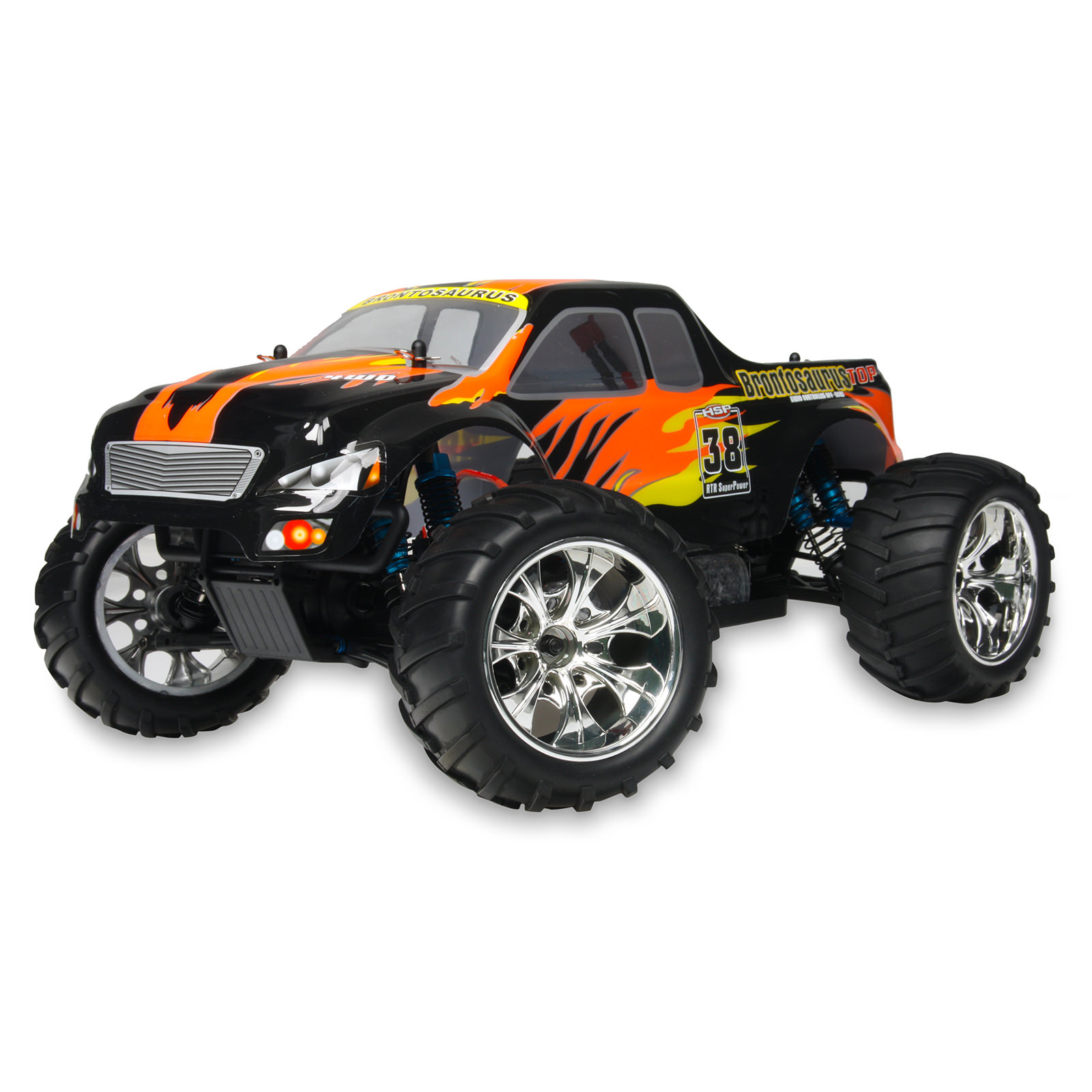 Hsp Rc Truck Nitro Gas Power Off Road Monster Truck 94188: HSP 94111TOP-10325 1/10 Black RC Monster Truck At Hobby
