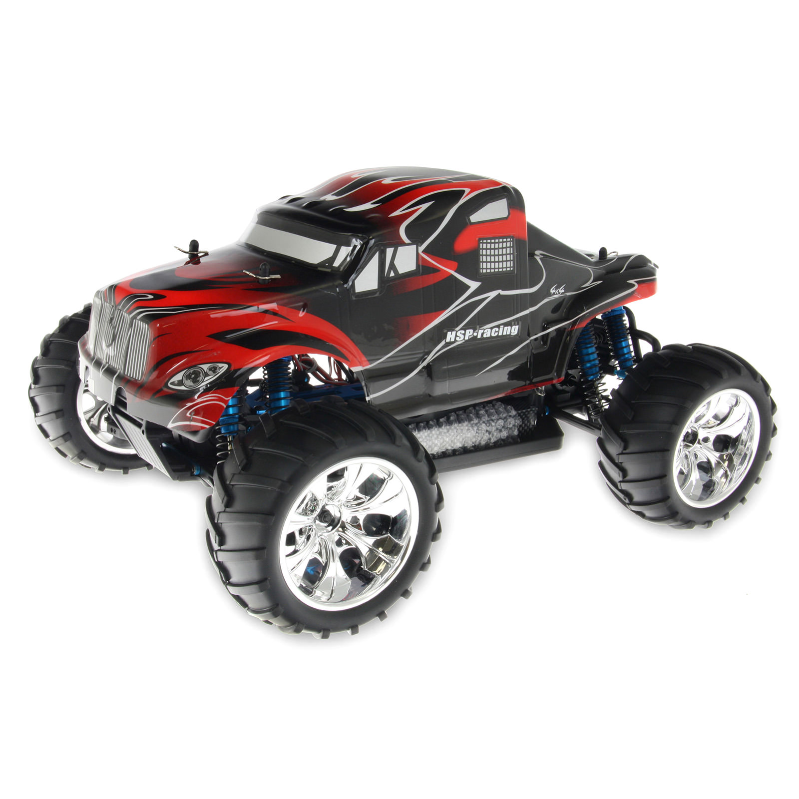 Hsp Rc Truck Nitro Gas Power Off Road Monster Truck 94188: HSP 94111TOP-11V-88033 Black RC Monster Truck At Hobby
