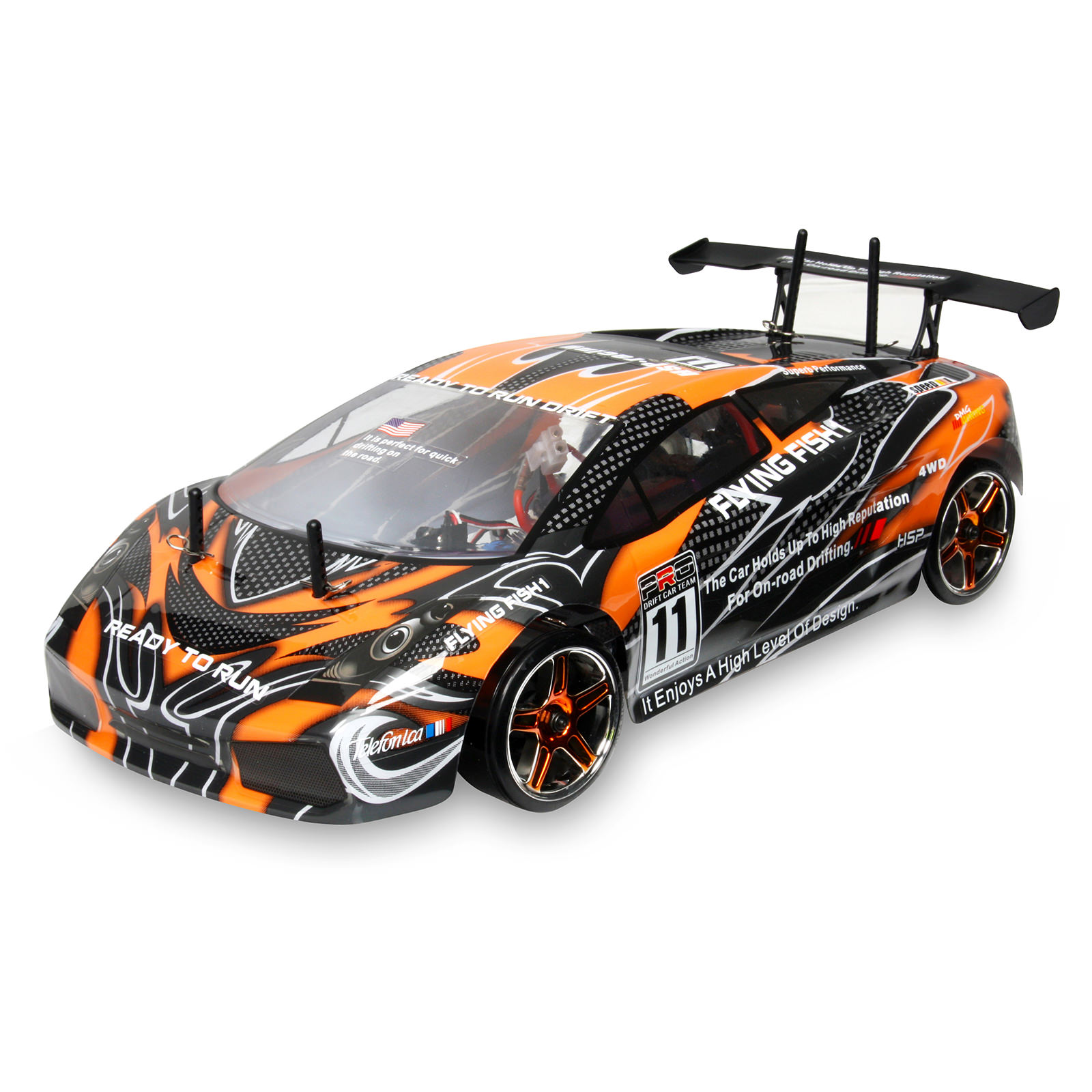 hsp 94123 10030 1 black rc car at hobby warehouse. Black Bedroom Furniture Sets. Home Design Ideas
