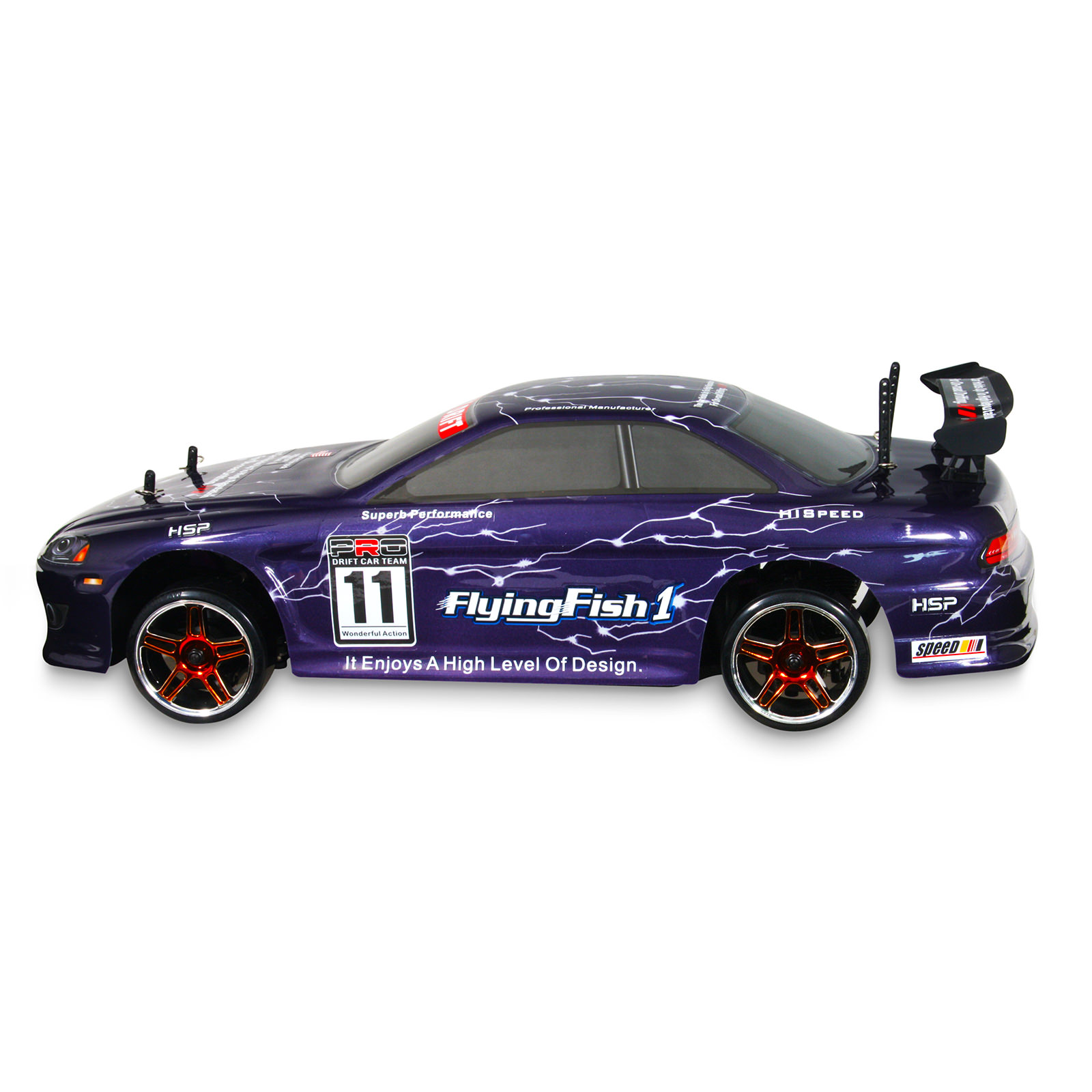 Hsp 94123 12302 purple rc car at hobby warehouse for Rc electric motor oil
