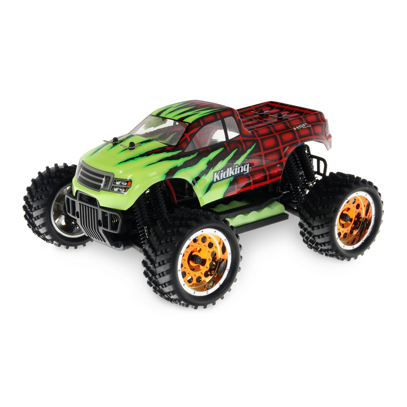 Hsp Rc Truck Nitro Gas Power Off Road Monster Truck 94188: HSP 94186-18608 Red RC Monster Truck At Hobby Warehouse