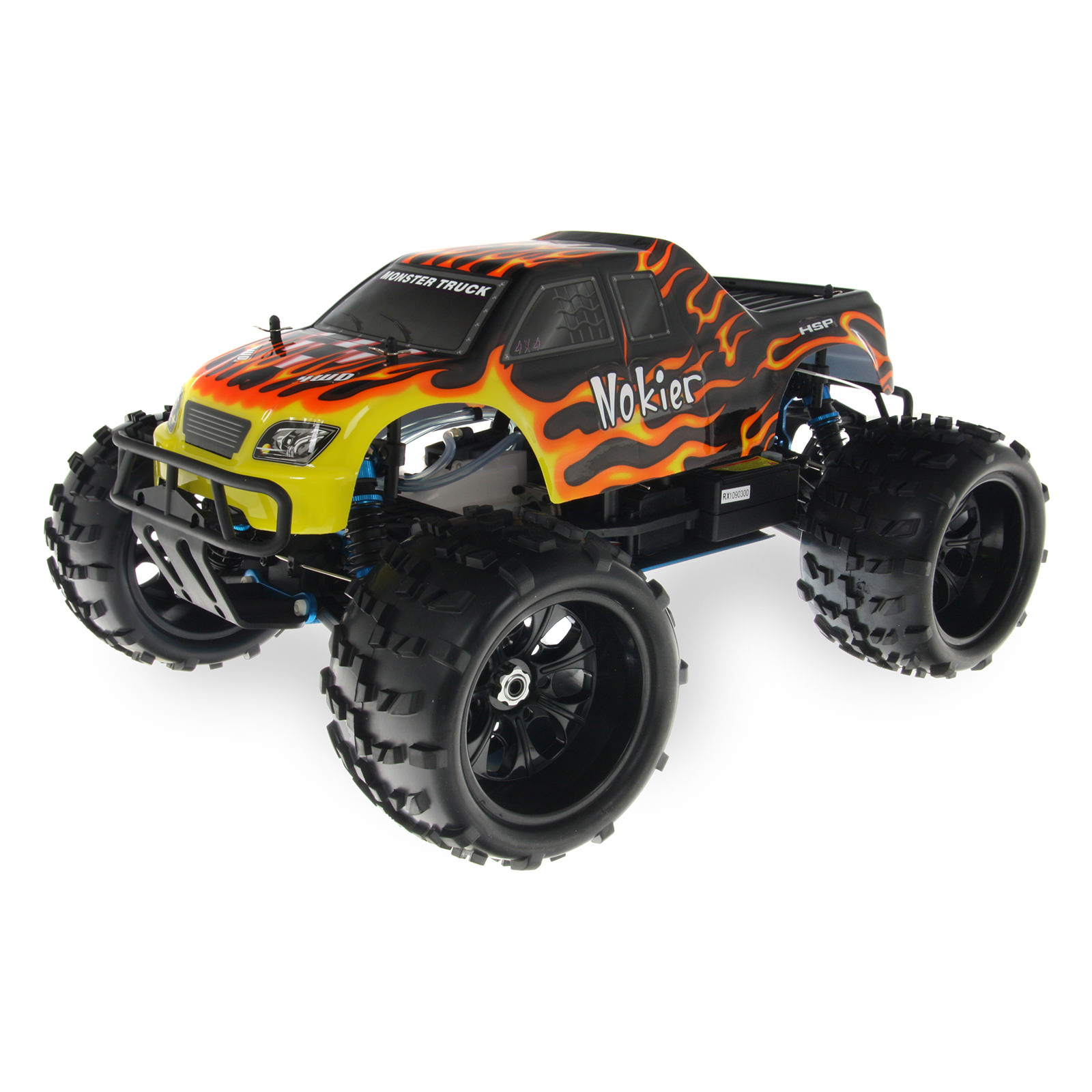 Hsp Rc Truck Nitro Gas Power Off Road Monster Truck 94188: HSP 94862-08304 Black RC Monster Truck At Hobby Warehouse