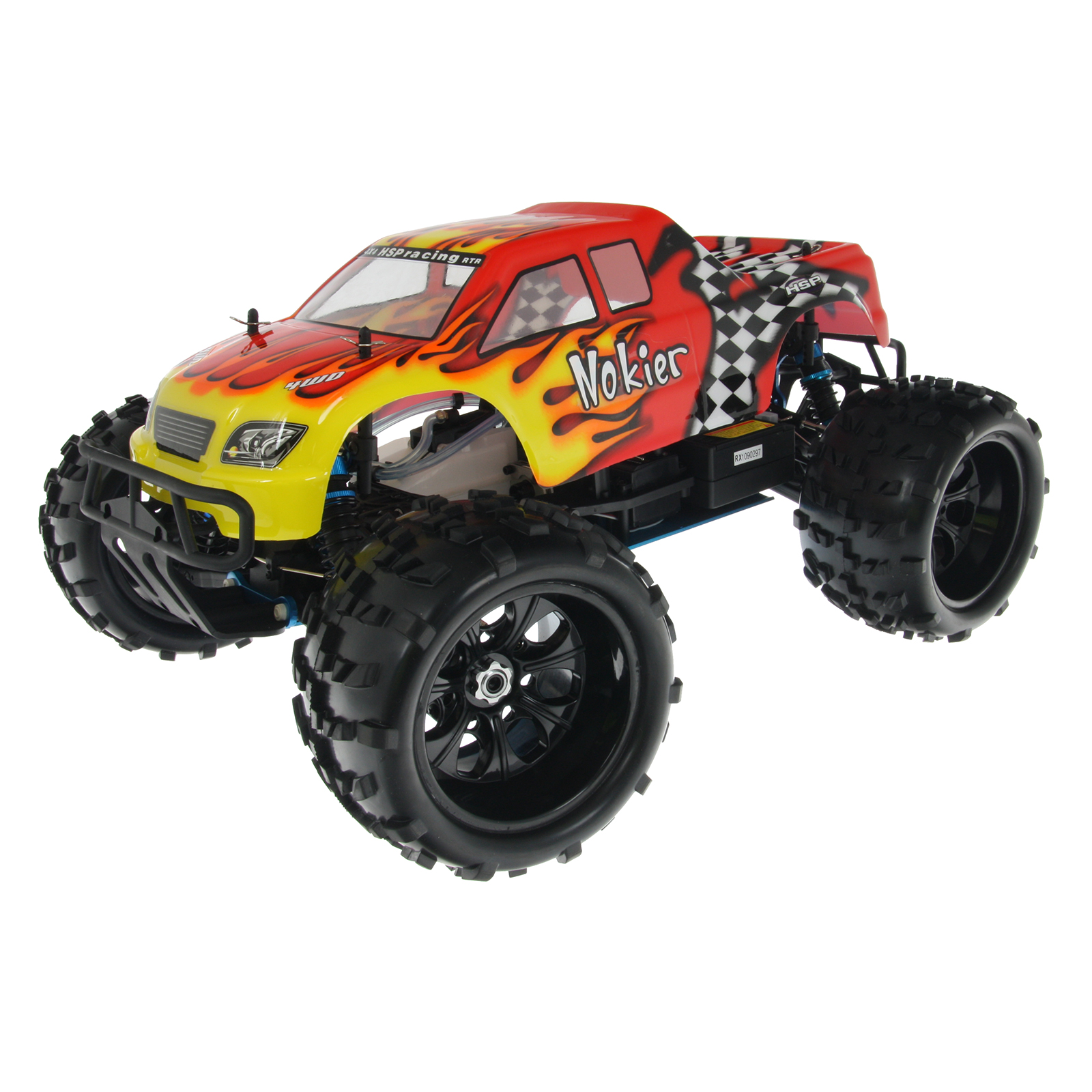Hsp Rc Truck Nitro Gas Power Off Road Monster Truck 94188: HSP 94862-08314 Red RC Monster Truck At Hobby Warehouse