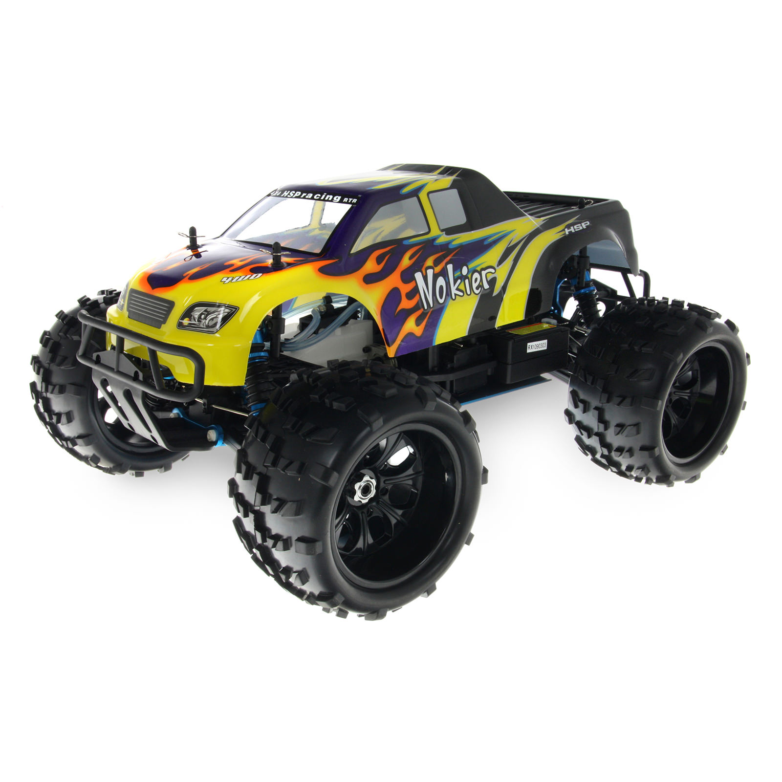 Hsp Rc Truck Nitro Gas Power Off Road Monster Truck 94188: HSP 94862-08316 Black RC Monster Truck At Hobby Warehouse
