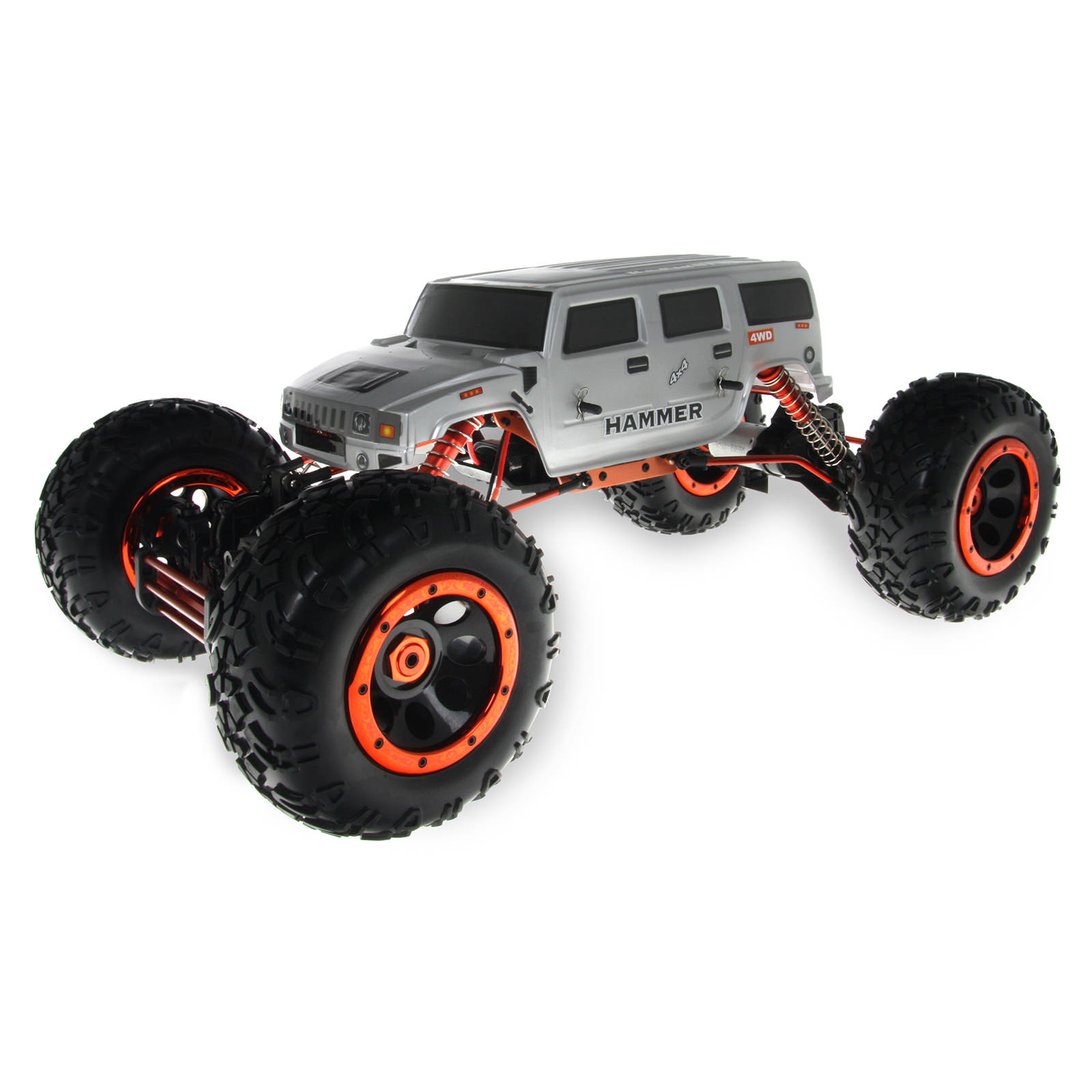 Hsp 94880t2 88113 silver rock crawler 2ws off road 1 8 scale rc truck