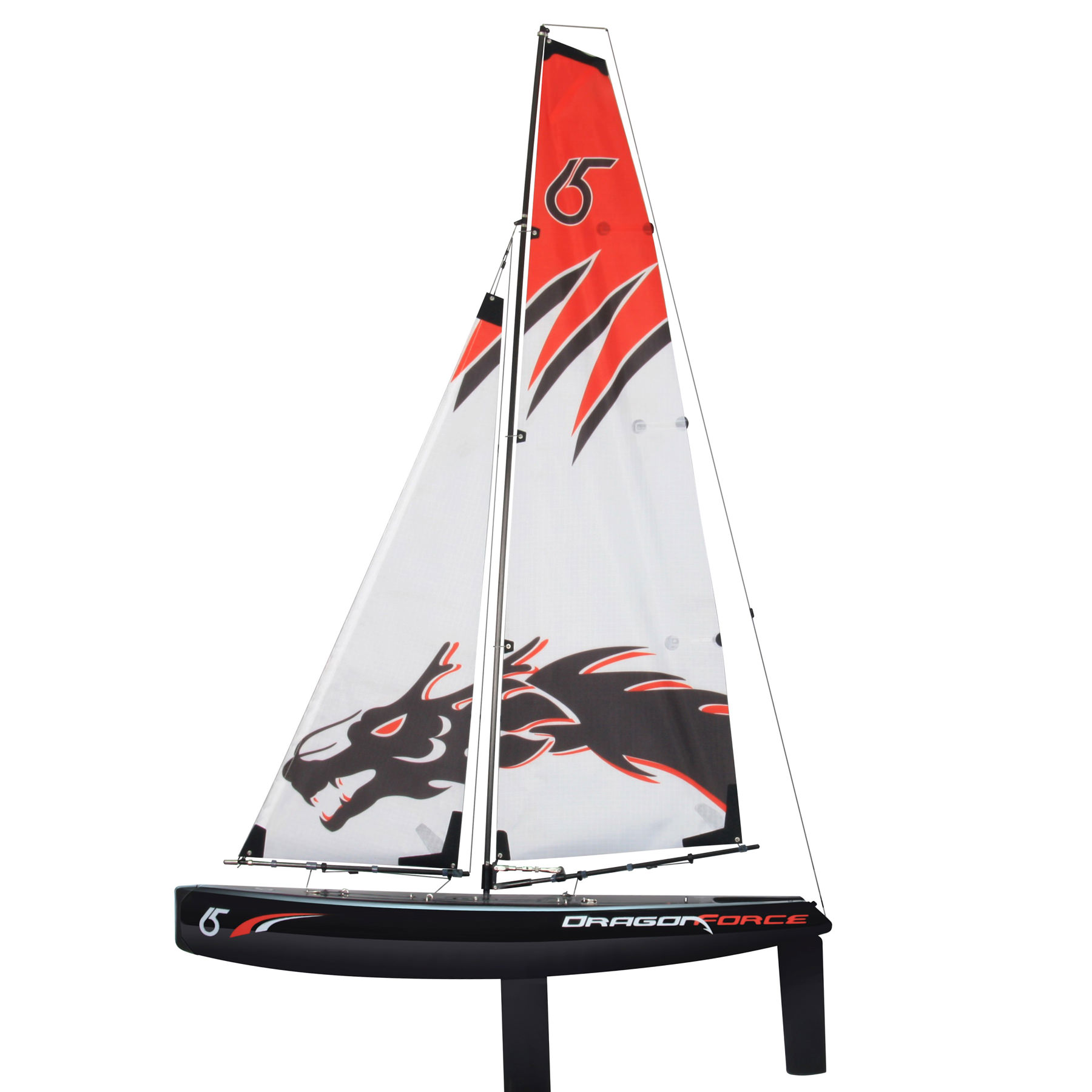 Joysway DragonForce 65 V5 2 4GHz RTR DF65 RG65 Class RC Yacht (includes  Transmitter & Receiver)