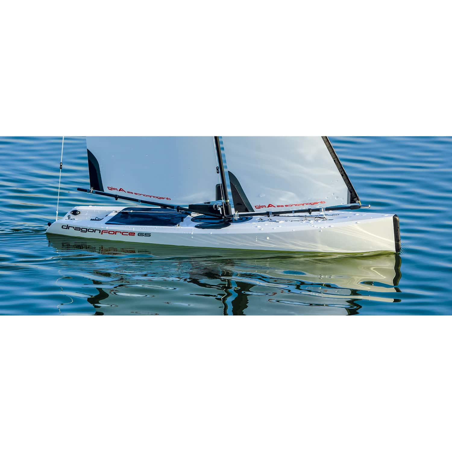 Joysway DragonForce 65 V6 2 4GHz RG65 Class DF65 RC Yacht - RTR (includes  Transmitter & Receiver)