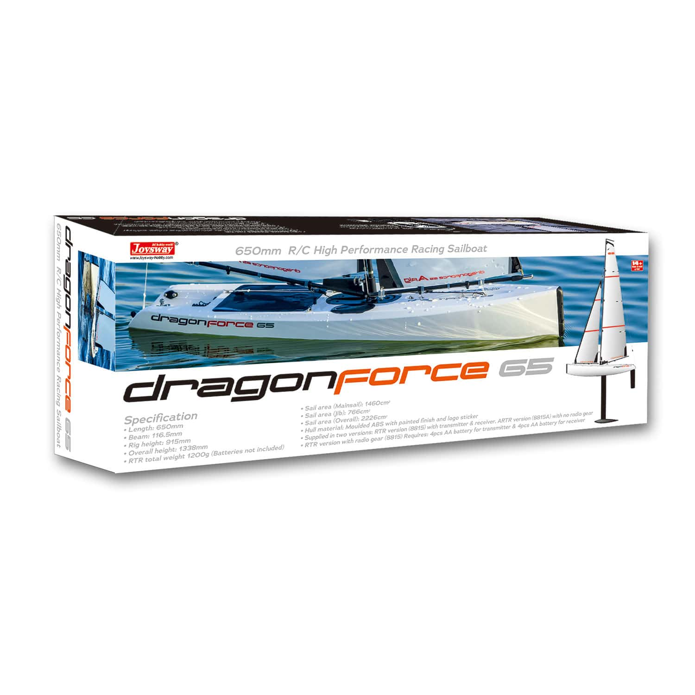 Joysway DragonForce 65 V6 2 4GHz RG65 Class DF65 RC Yacht - RTR (includes  Transmitter & Receiver)