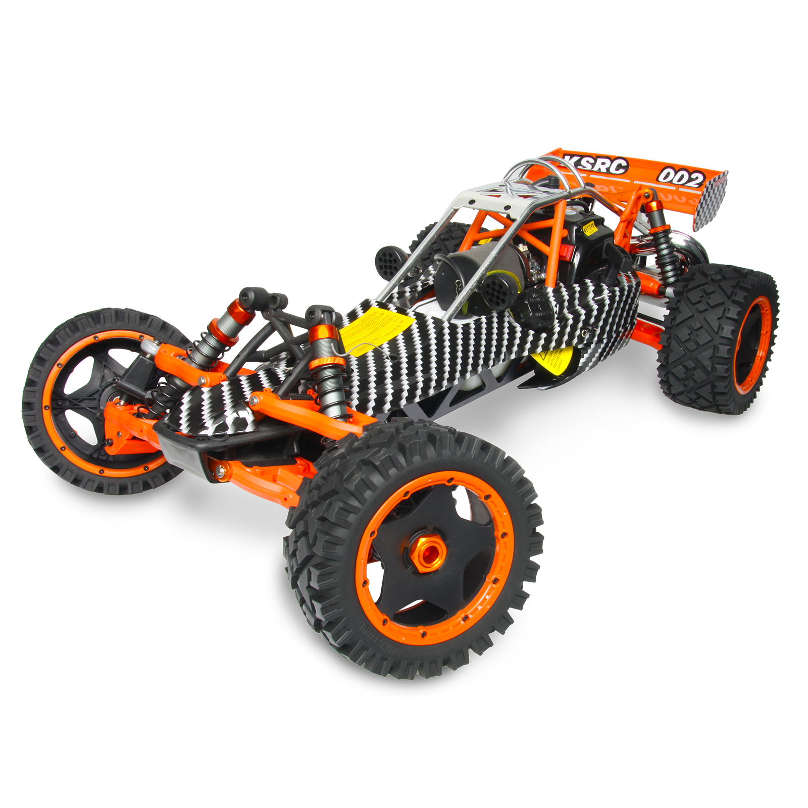 King Motor Baja Ksrc002 Carbon Hpi Style Rc Buggy At Hobby