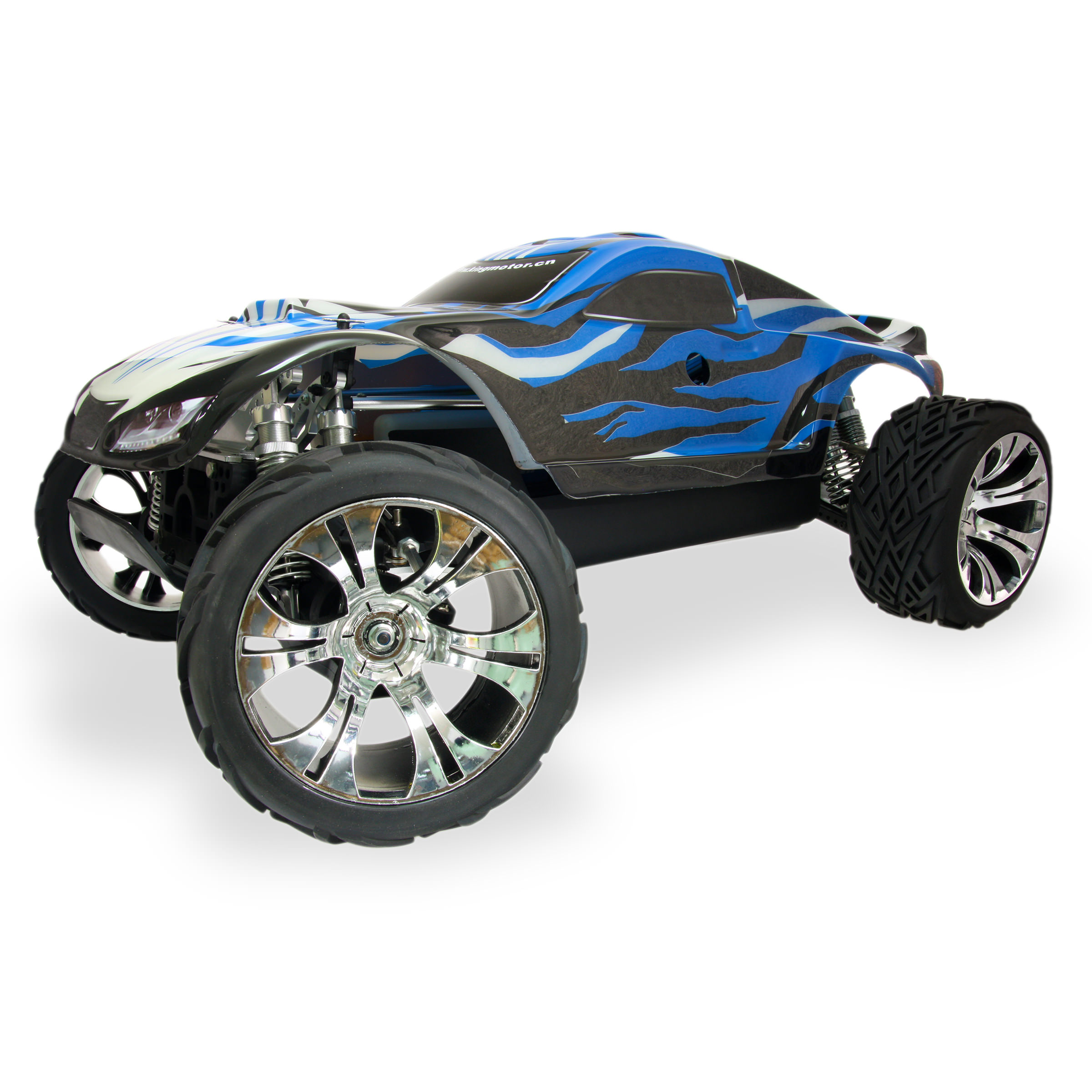 King Motor X1 Blue Rc Truggy At Hobby Warehouse