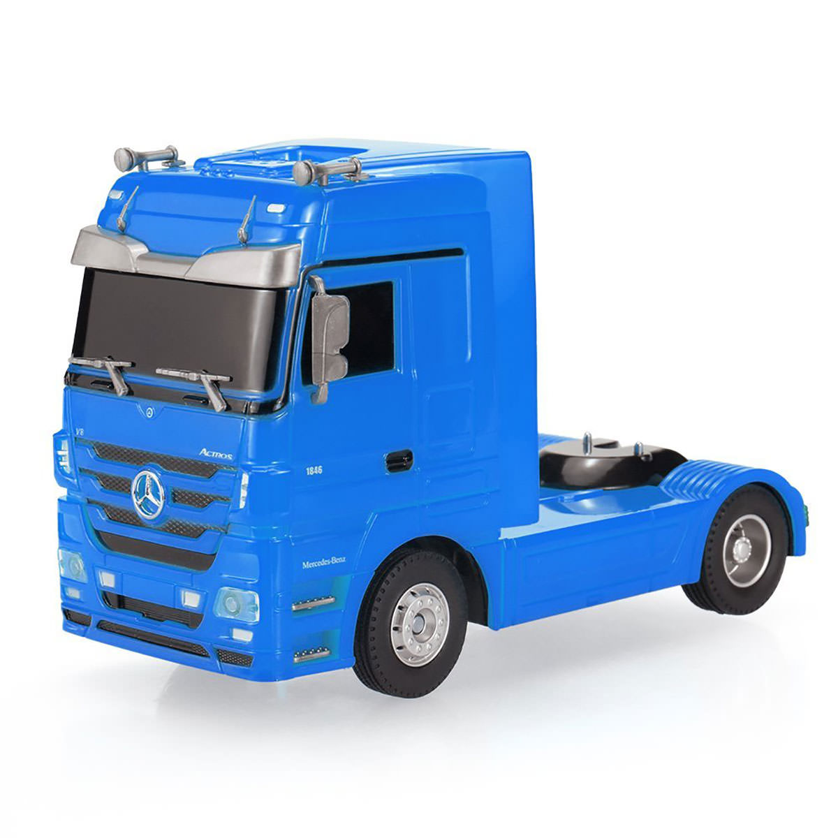 Mercedes benz actros 1 32 scale rc truck at hobby warehouse for Rc mercedes benz