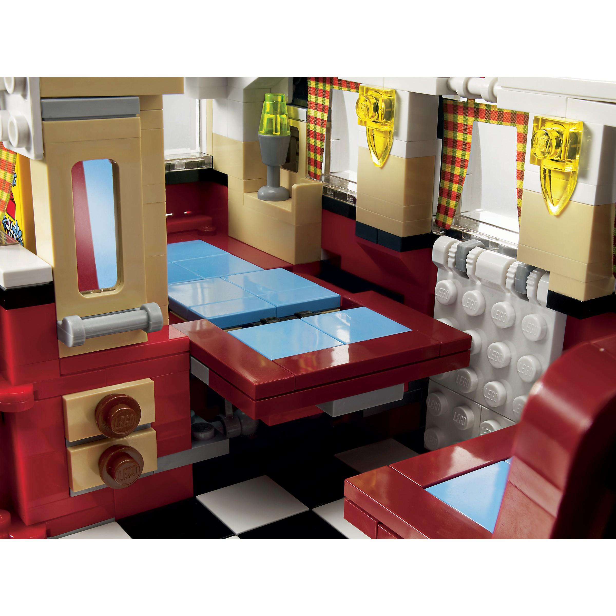 Lego 10220 creator volkswagen t1 camper kombi van at hobby for Interieur combi vw